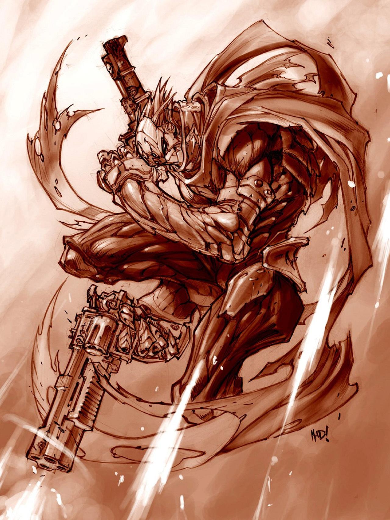 22982 скачать обои Игры, Рисунки, Darksiders (Darksiders: Wrath Of War) - заставки и картинки бесплатно