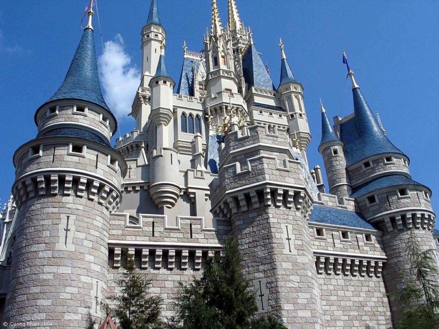 24932 скачать обои Архитектура, Замки, Диснейленд (Disneyland) - заставки и картинки бесплатно