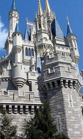 24932 baixar papel de parede Arquitetura, Castelos, Disneyland - protetores de tela e imagens gratuitamente