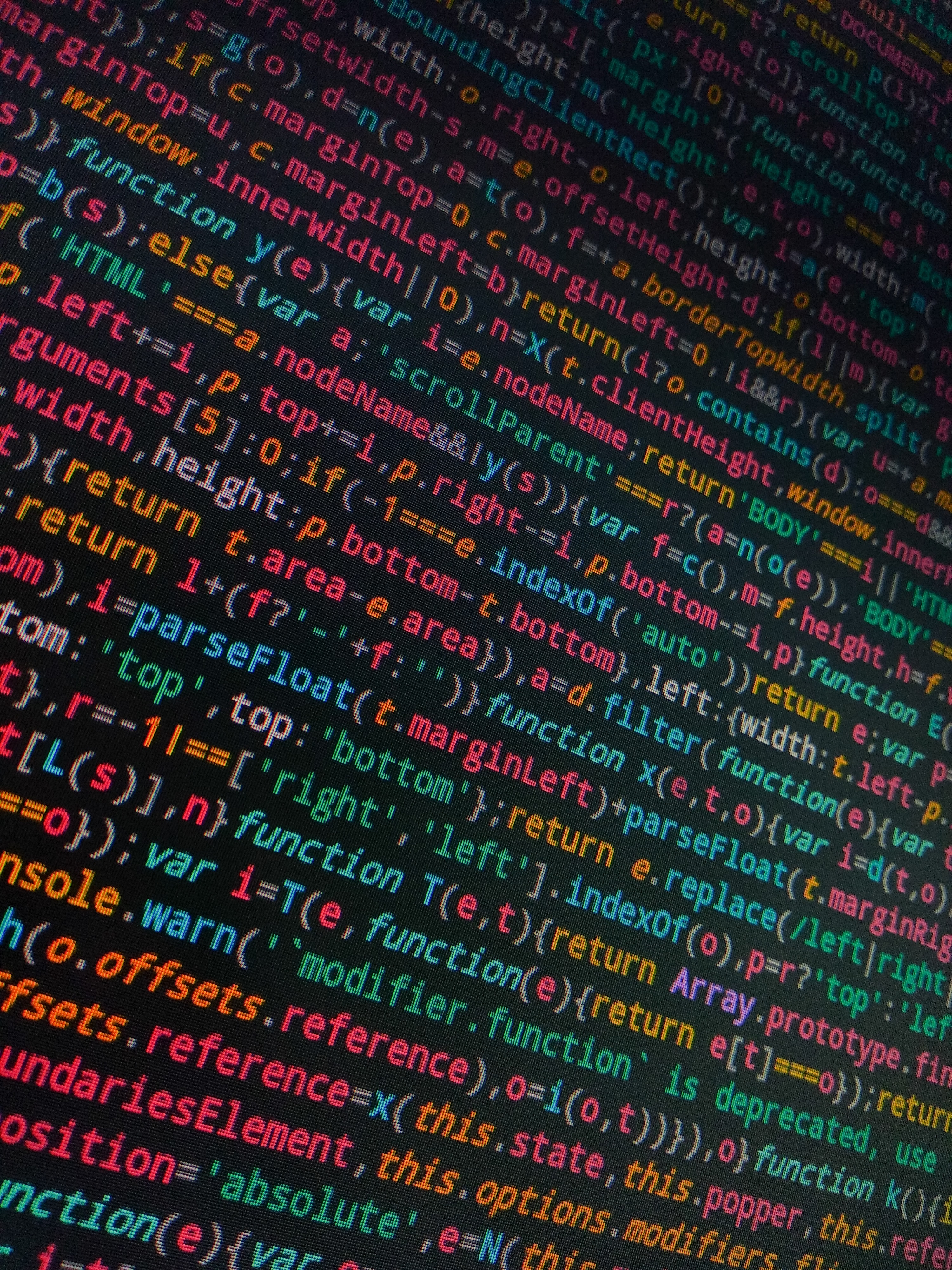 59866 Hintergrundbild herunterladen Der Code, Code, Symbole, Zeichen, Programmierung, Die Wörter, Wörter, Mehrfarbig, Motley, Bildschirm - Bildschirmschoner und Bilder kostenlos