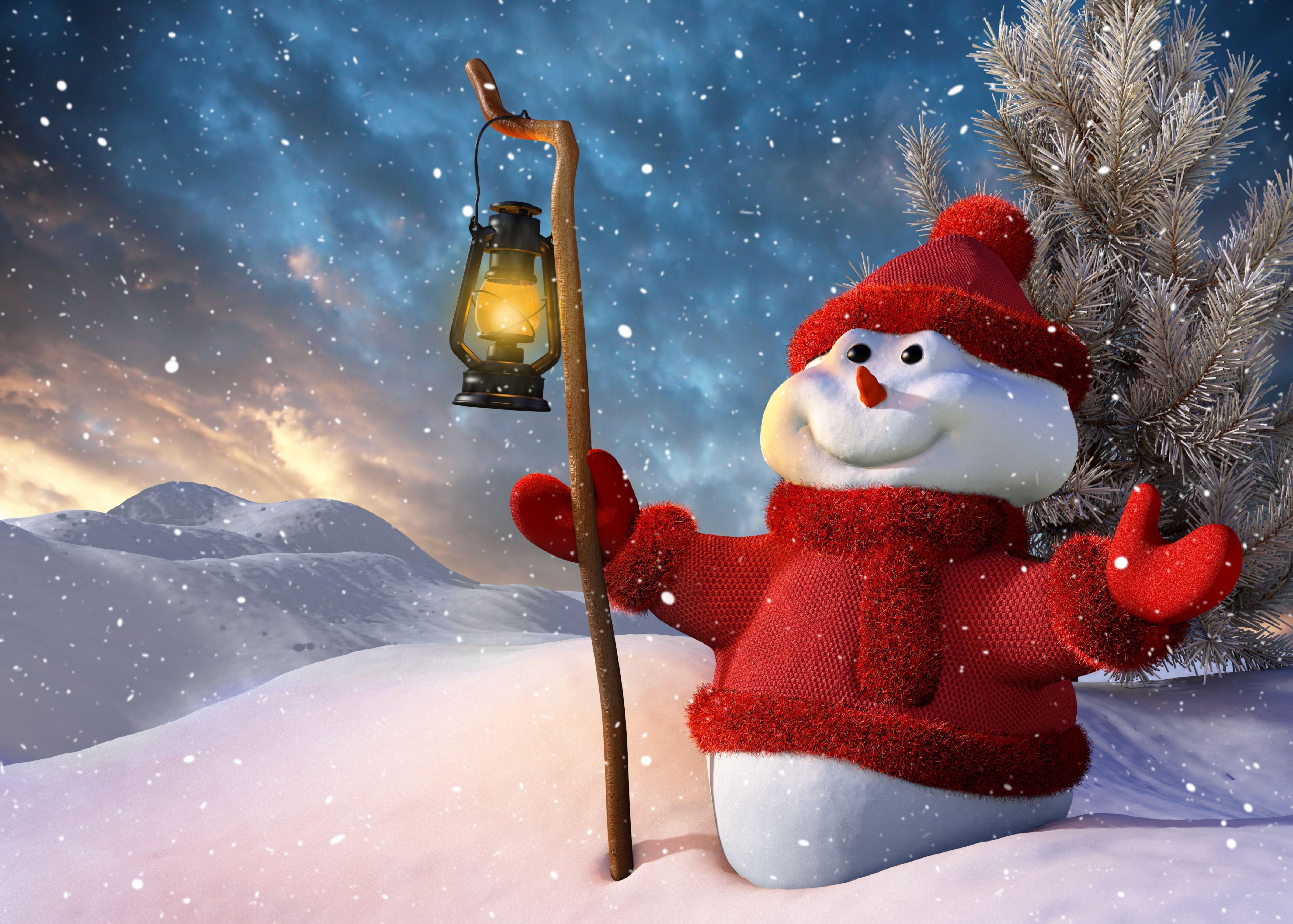 86186 Salvapantallas y fondos de pantalla Año Nuevo en tu teléfono. Descarga imágenes de Vacaciones, Año Nuevo, Navidad, Monigote De Nieve, Muñeco De Nieve, Lámpara, Linterna, Árbol De Navidad, Nieve, Sonrisa, Sonreír gratis