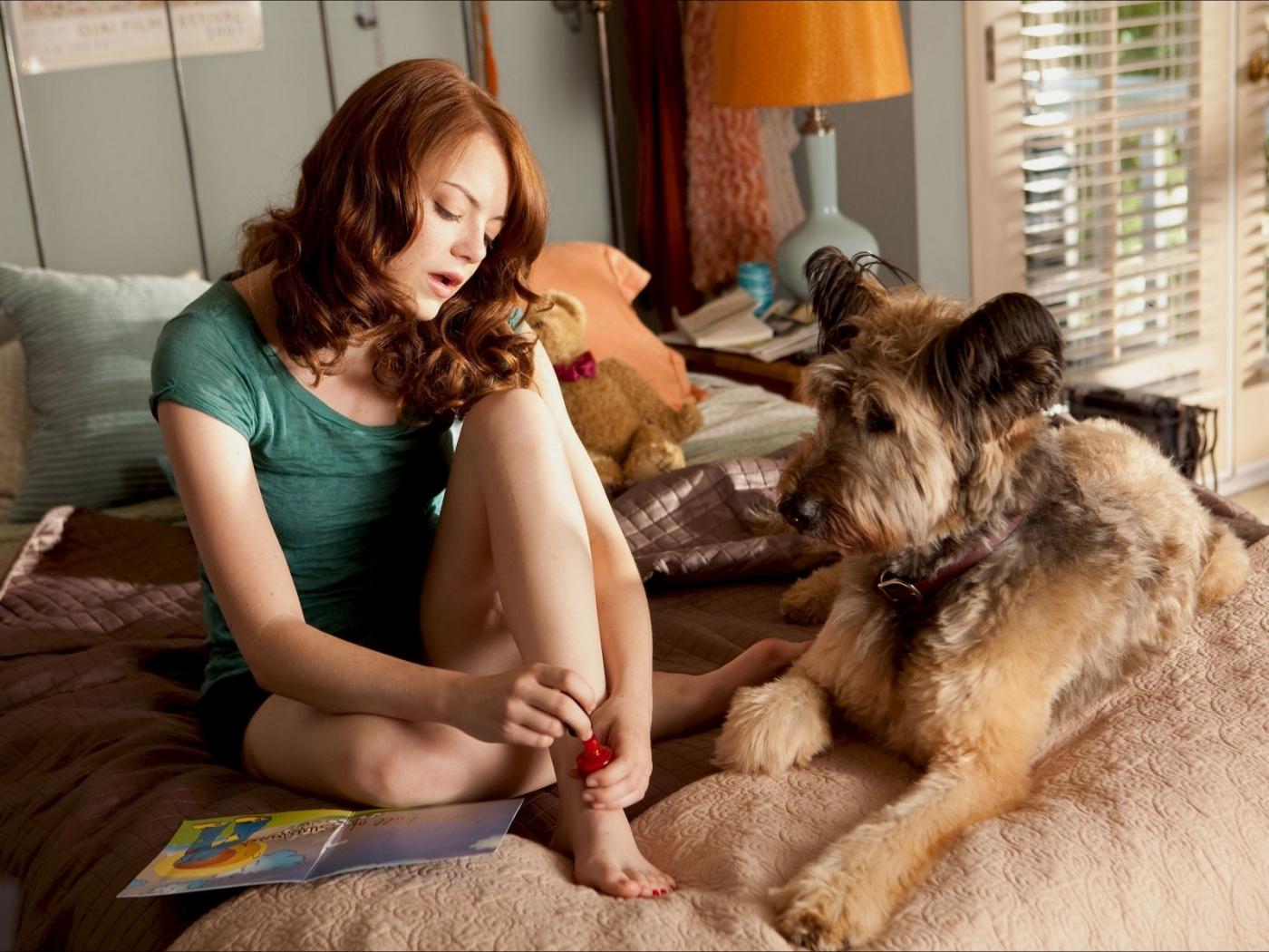 31643 скачать обои Кино, Девушки, Люди, Актеры, Эмма Стоун (Emma Stone) - заставки и картинки бесплатно