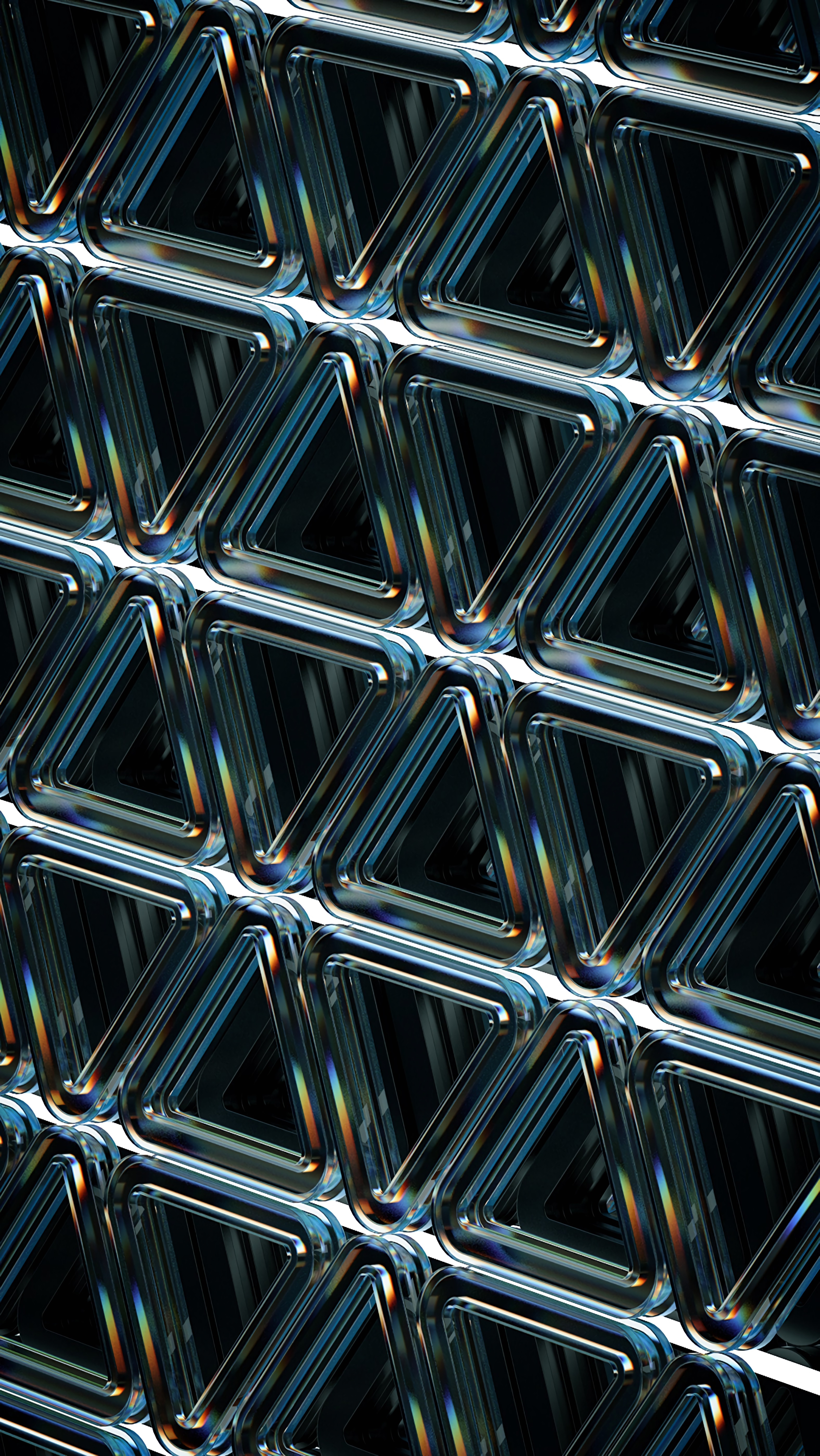86026 download wallpaper 3D, Structure, Geometric, Triangles, Raised, Relief, Glass screensavers and pictures for free