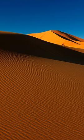 92793 Заставки и Обои Пустыня на телефон. Скачать Природа, Дюны, Песок, Тень, Холмы, Пустыня картинки бесплатно