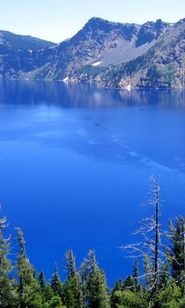 1959 download wallpaper Landscape, Water, Mountains screensavers and pictures for free