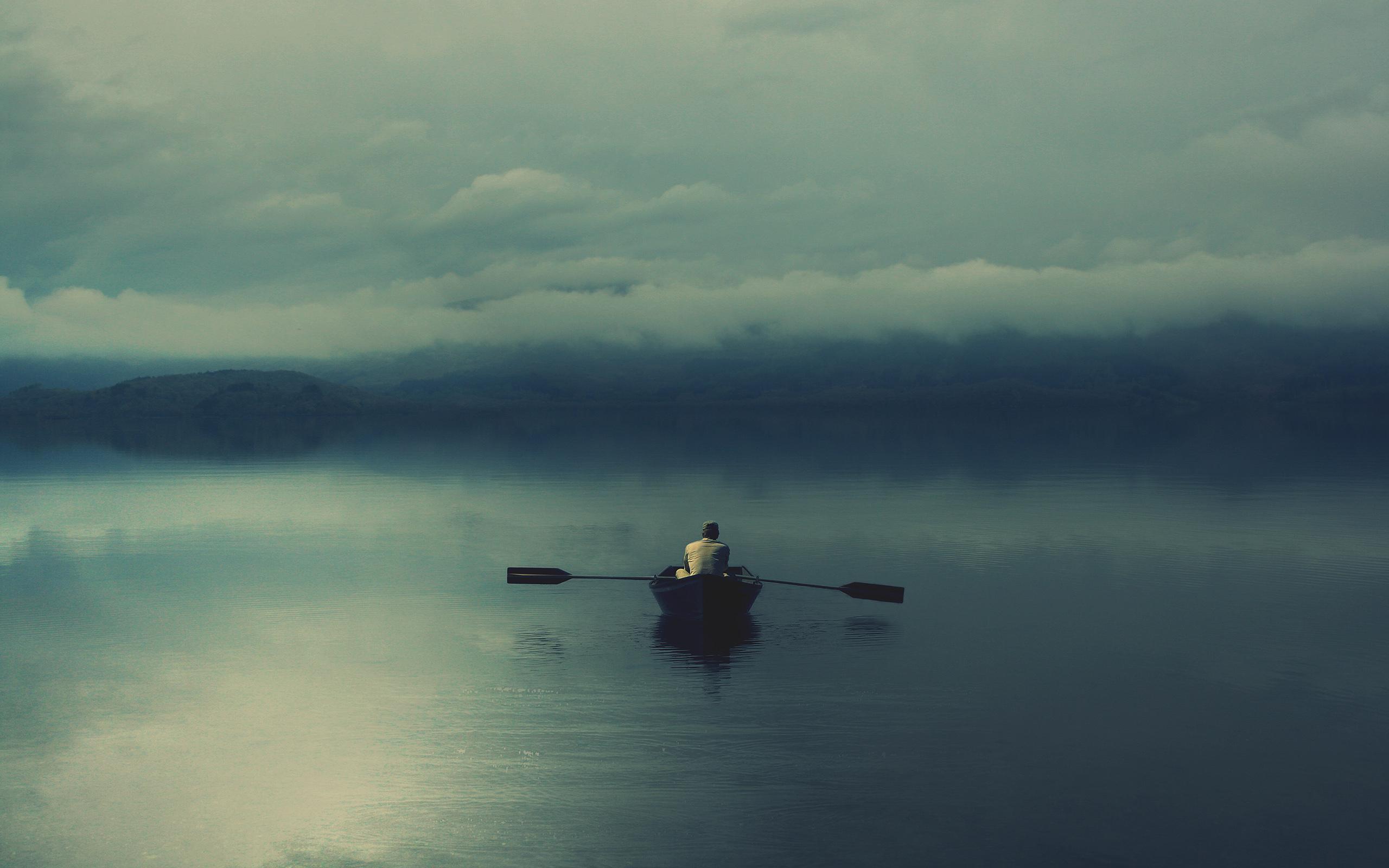 11355 скачать обои Пейзаж, Люди, Вода, Озера, Лодки - заставки и картинки бесплатно
