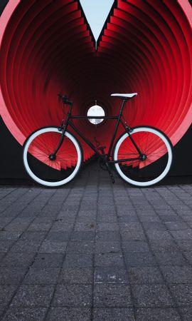 105877 descargar fondo de pantalla Miscelánea, Misceláneo, Bicicleta, Transporte, Trompeta, Pipa, Calle: protectores de pantalla e imágenes gratis