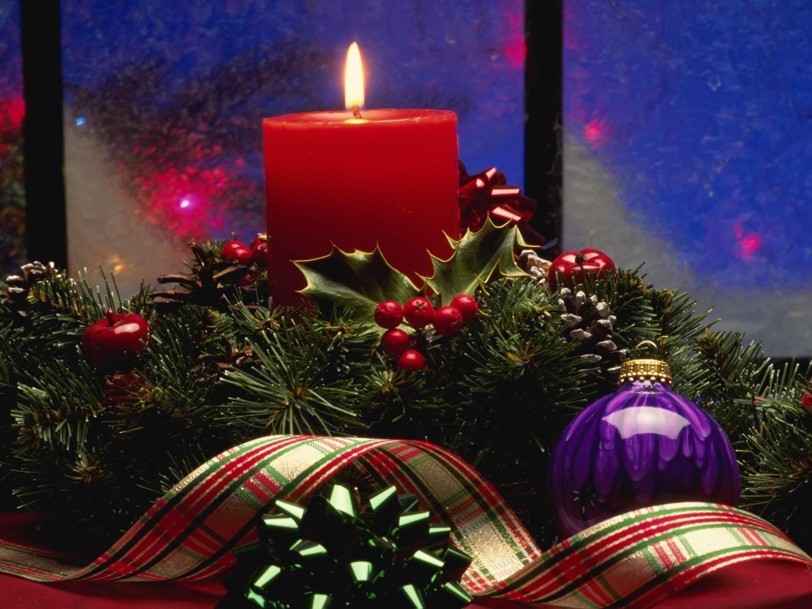2299 descargar fondo de pantalla Vacaciones, Año Nuevo, Navidad, Velas: protectores de pantalla e imágenes gratis