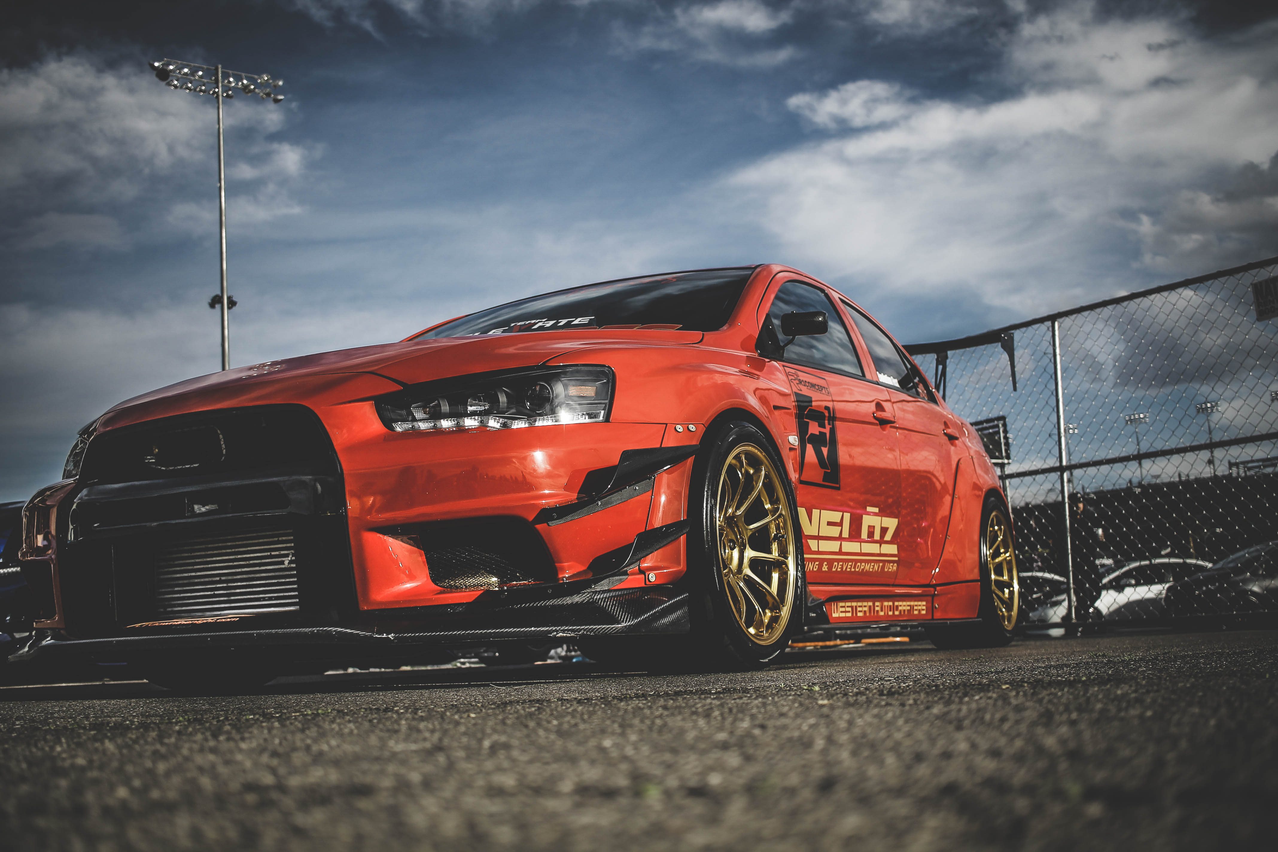 130984 download wallpaper Cars, Mitsubishi Lancer Evolution X, Mitsubishi, Sports Car, Sports, Races, Side View screensavers and pictures for free
