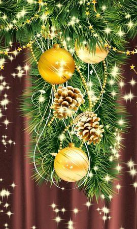 18631 скачать обои Праздники, Фон, Новый Год (New Year), Рождество (Christmas, Xmas) - заставки и картинки бесплатно