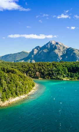 88905壁紙のダウンロード自然, 島, 海, 海洋, 大洋, 上から見る, 木, グリーンズ, 菜-スクリーンセーバーと写真を無料で
