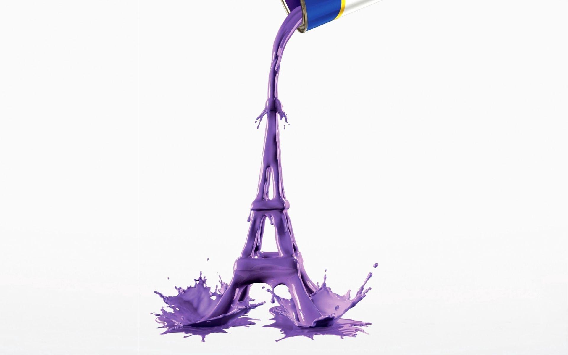 88607 télécharger le fond d'écran Divers, Peindre, Peinture, Chiffre, Figure, Contexte, Tour Eiffel - économiseurs d'écran et images gratuitement