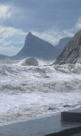30231 скачать обои Пейзаж, Море, Волны - заставки и картинки бесплатно