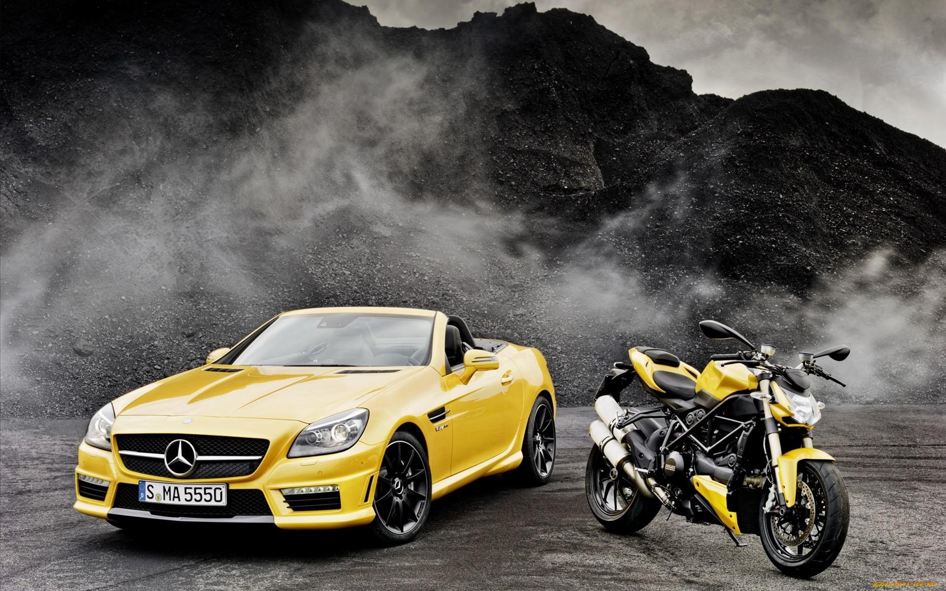46693 скачать обои Транспорт, Машины, Мерседес (Mercedes), Мотоциклы - заставки и картинки бесплатно