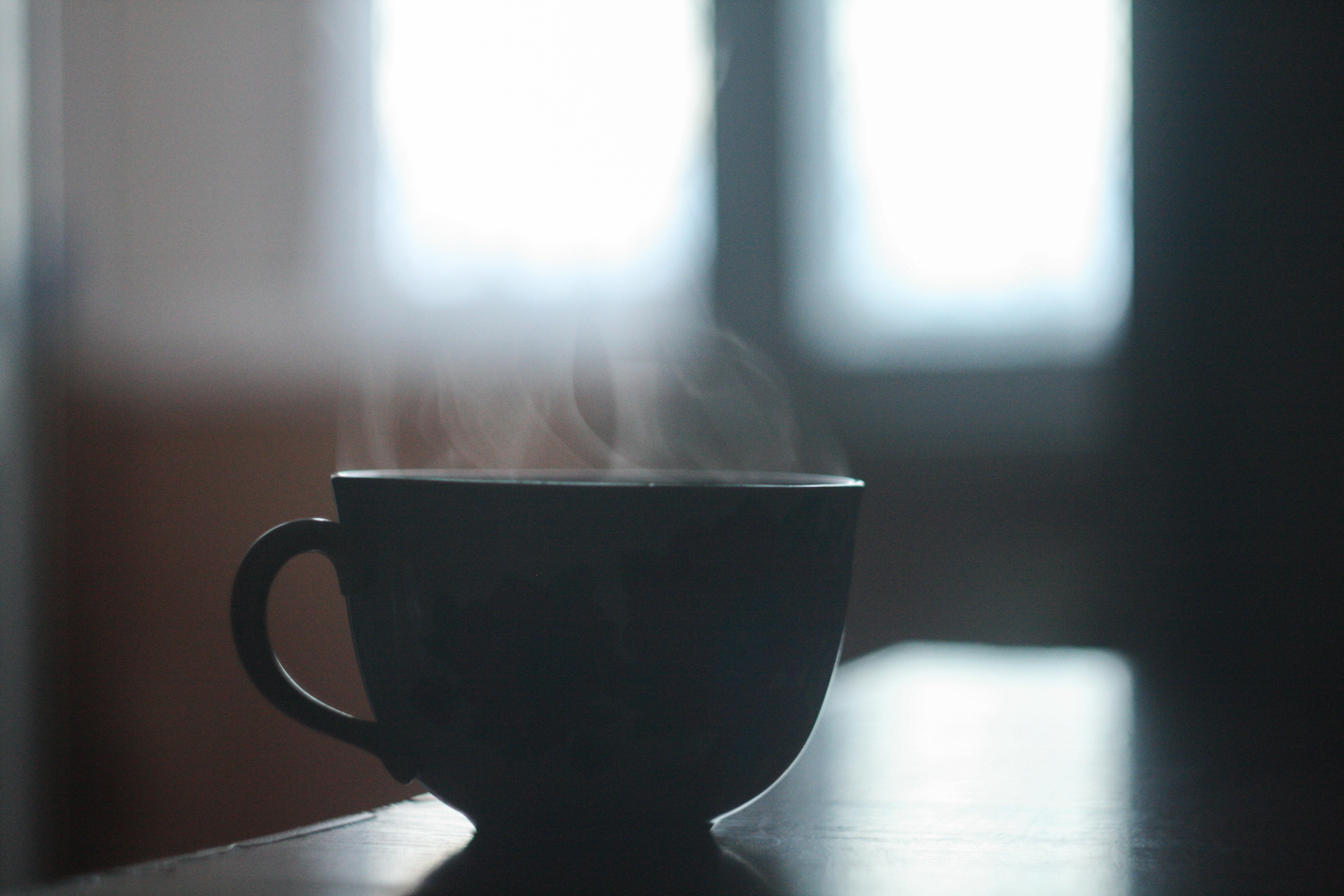 131143 Screensavers and Wallpapers Shadow for phone. Download Dark, Cup, Shadow, Table, Steam pictures for free