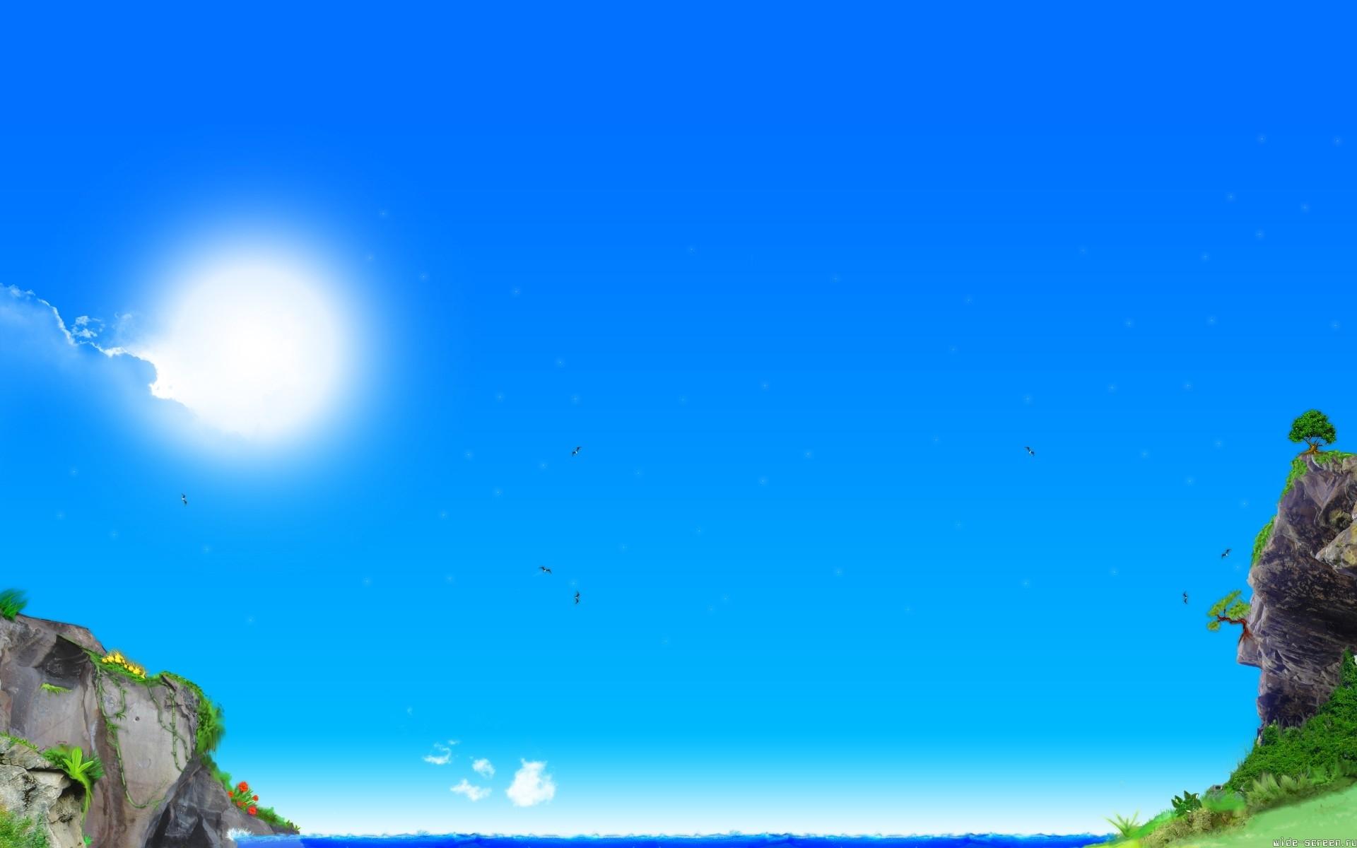 5482 скачать обои Пейзаж, Небо, Солнце - заставки и картинки бесплатно