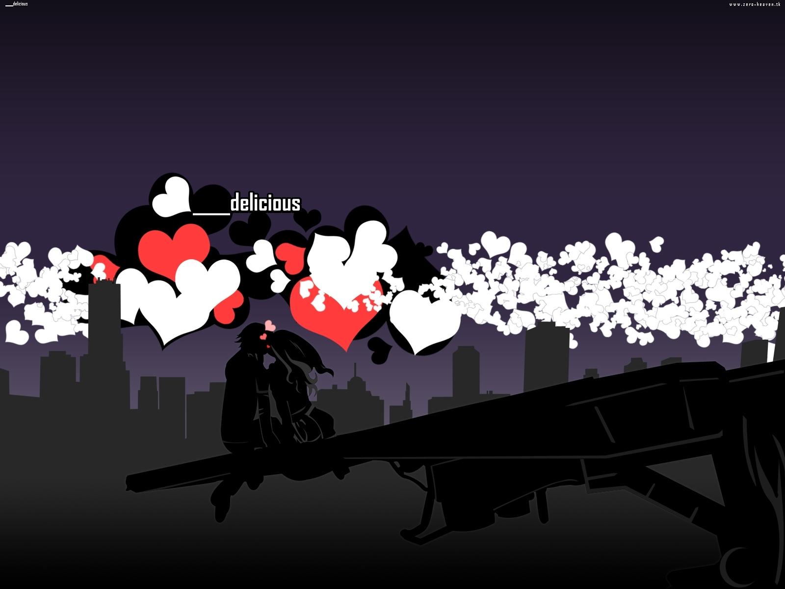 7023 скачать обои Праздники, Сердца, Любовь, День Святого Валентина (Valentine's Day), Рисунки - заставки и картинки бесплатно