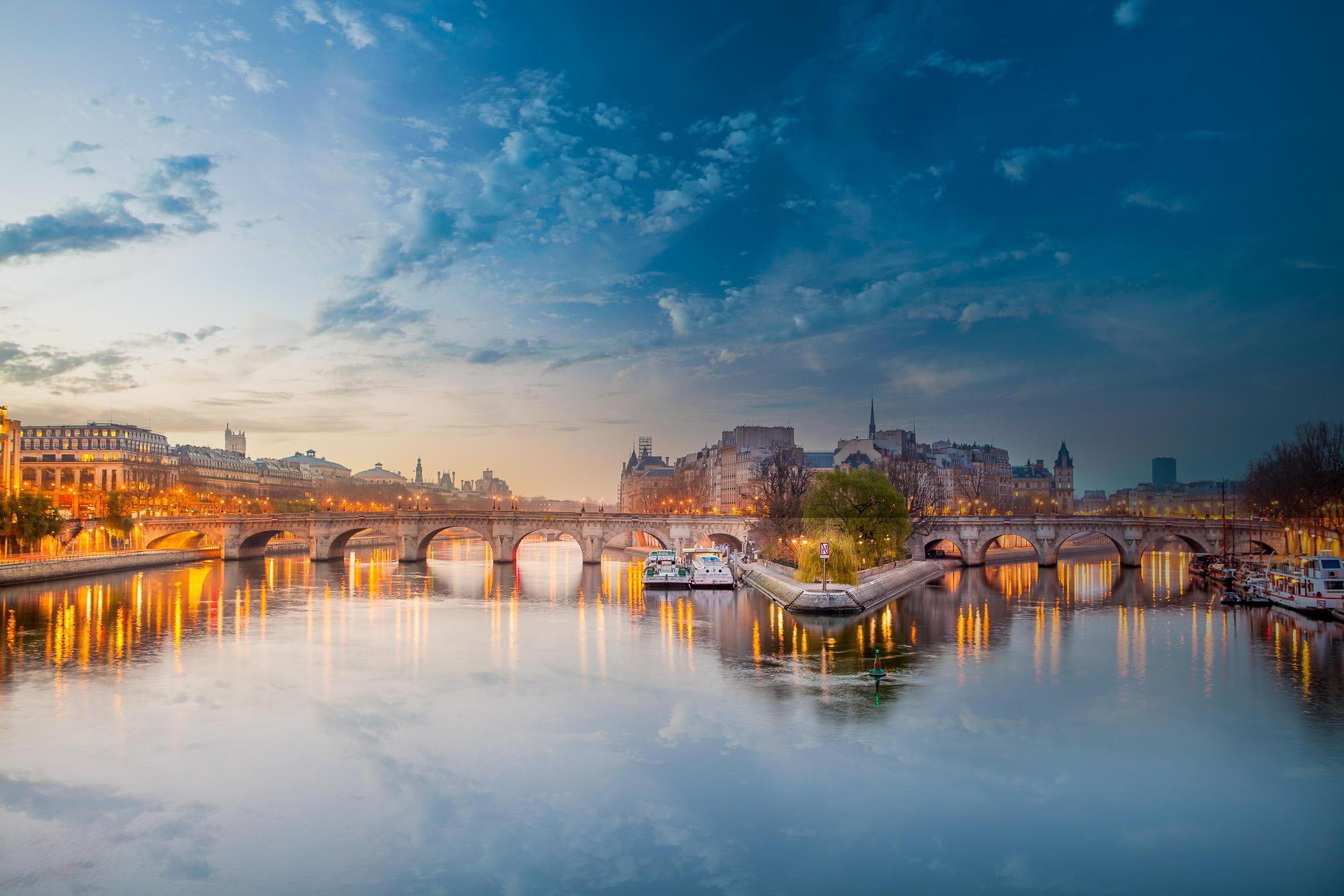 69620壁紙のダウンロードパリ, フランス, 干し草川, ヘイ川, ブリッジ, 橋, 都市-スクリーンセーバーと写真を無料で