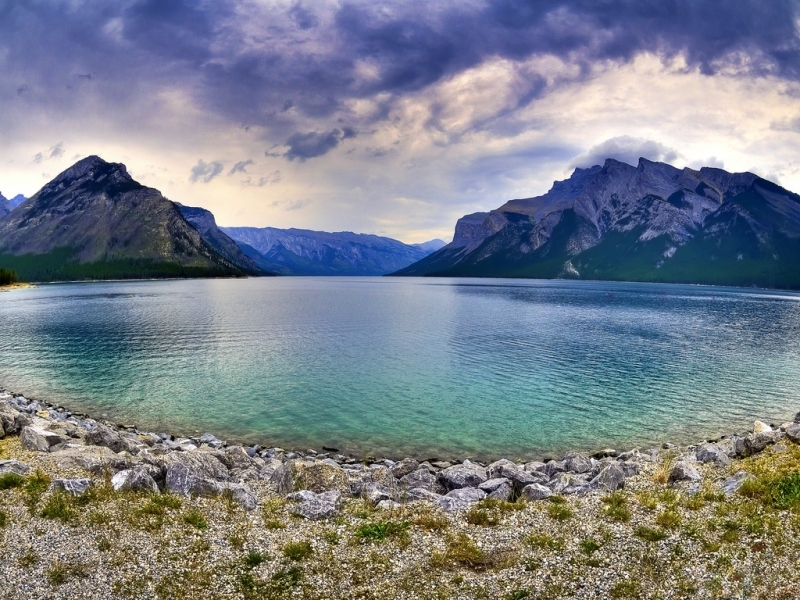 49137 download wallpaper Landscape, Nature, Mountains, Lakes screensavers and pictures for free