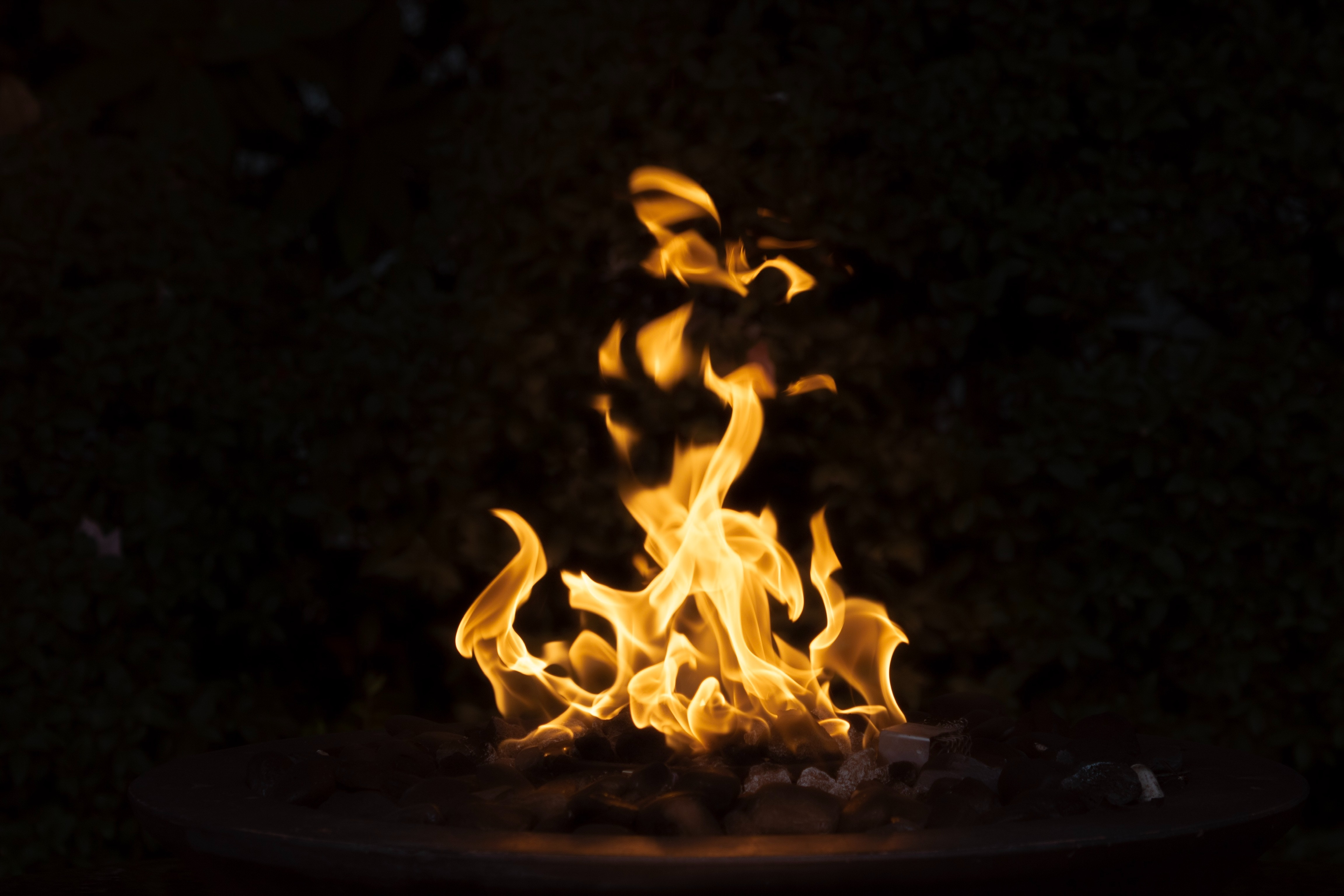 129304 Screensavers and Wallpapers Bonfire for phone. Download Dark, Fire, Bonfire, Flame, Combustion pictures for free