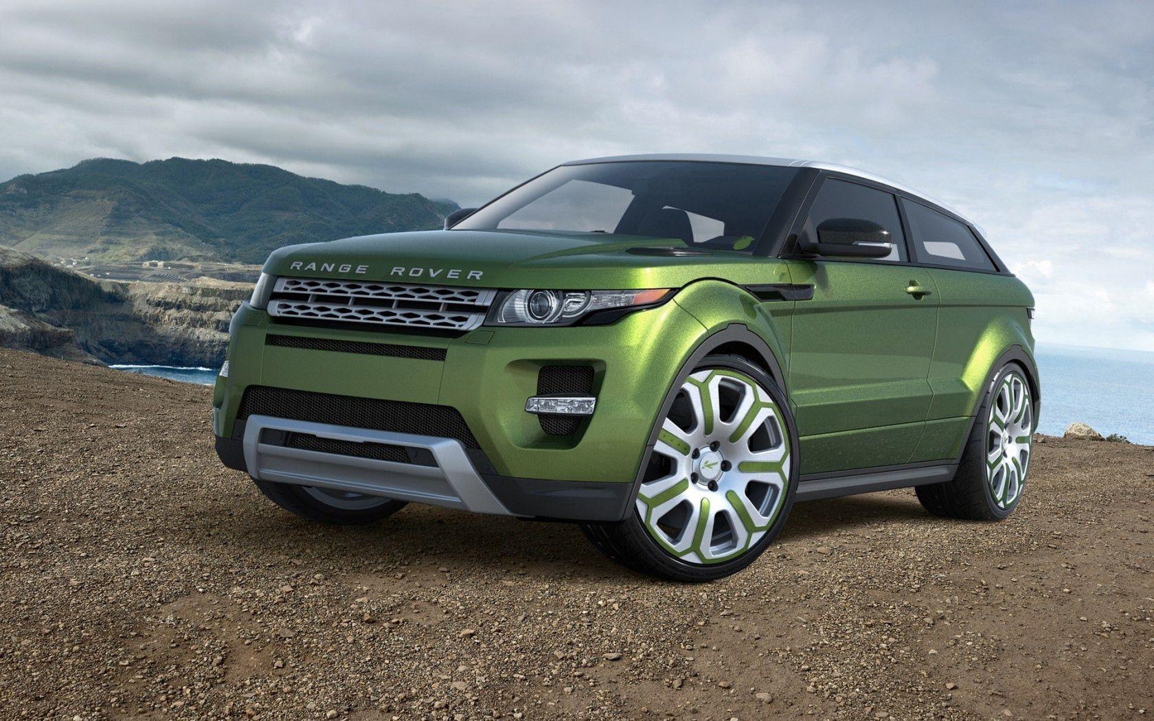 149807 скачать обои Тачки (Cars), Ленд Ровер (Land Rover), Рендж Ровер (Range Rover), Evoque, Ленд Ровер, Рэндж Ровер, Эвок, Машины, Машина, Зелёная - заставки и картинки бесплатно