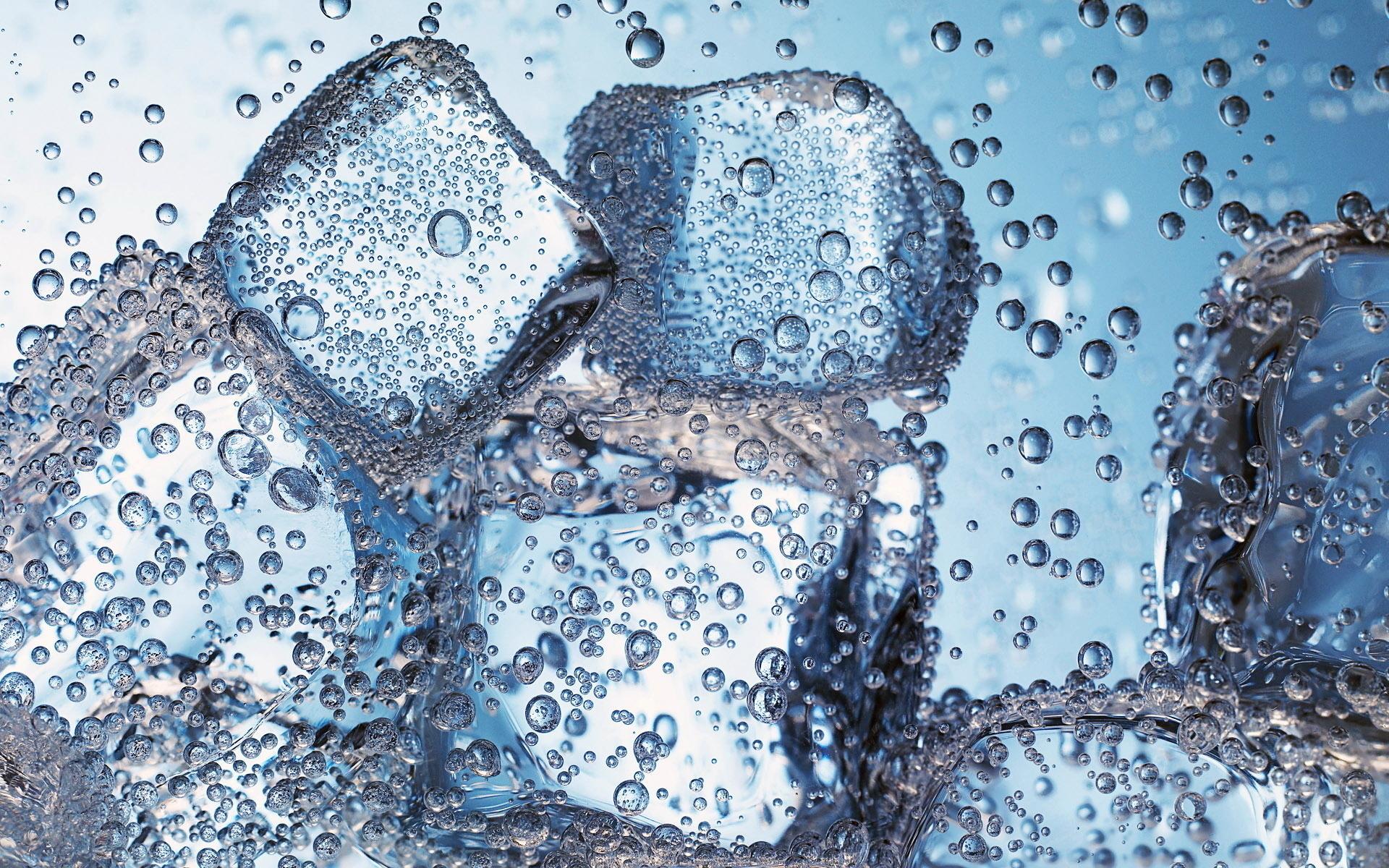 20664 скачать обои Вода, Фон, Лед, Пузыри - заставки и картинки бесплатно