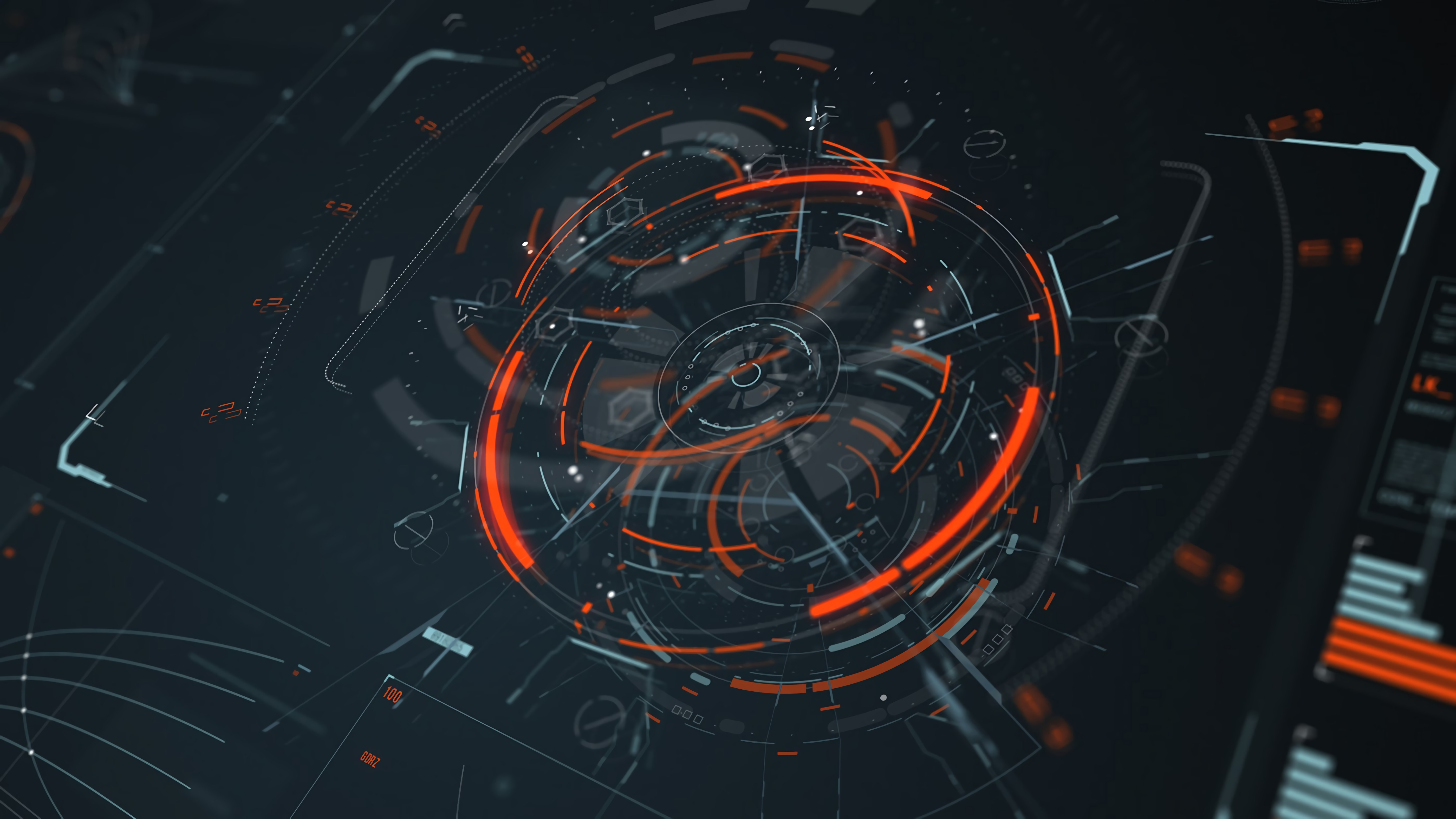 75990 download wallpaper Technology, Circles, Lines, Sci-Fi, Technologies, Elements, Digital, Scheme, Hologram screensavers and pictures for free