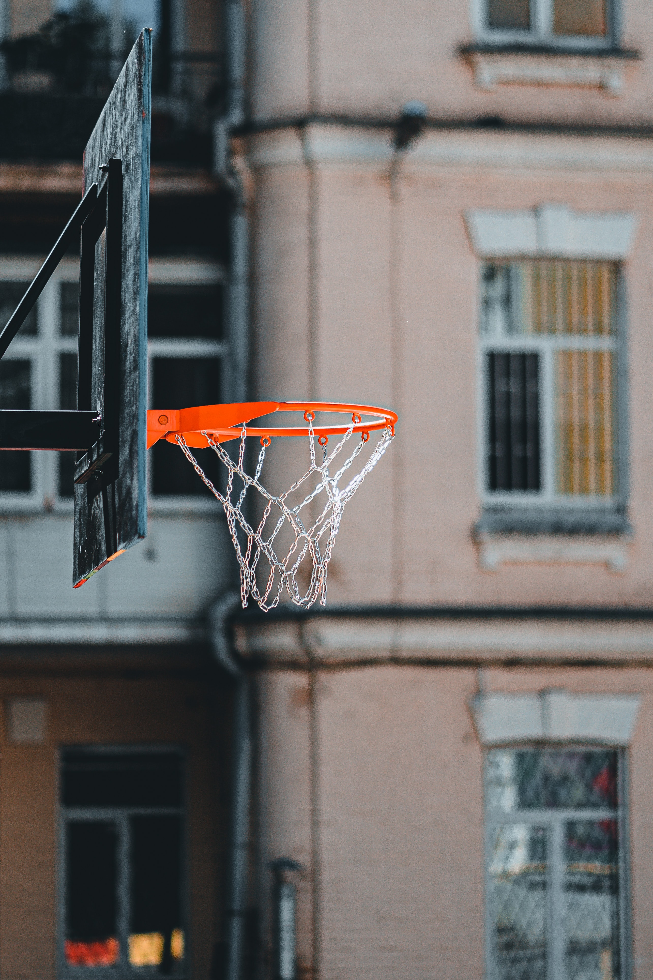 130492 Screensavers and Wallpapers Basketball for phone. Download Sports, Basketball, Basketball Backboard, Basketball Shield, Ring, Chains pictures for free