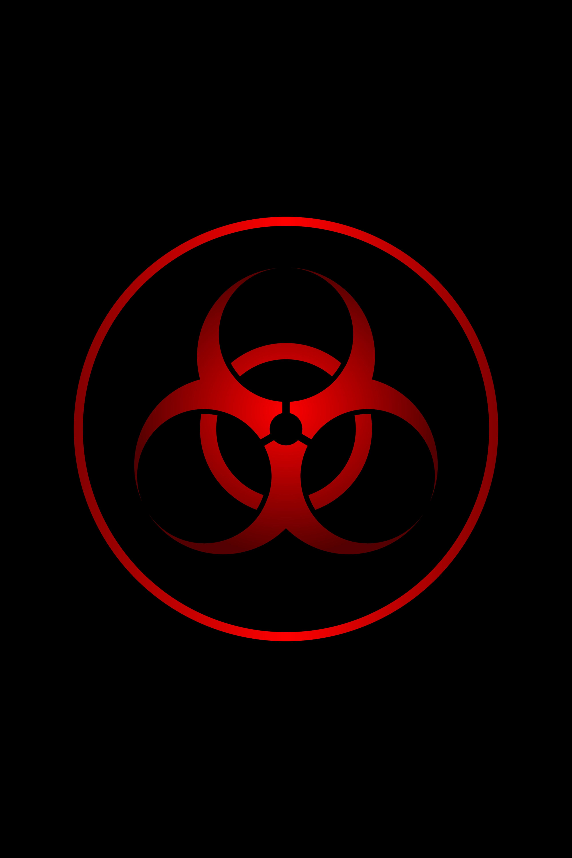 150525 Hintergrundbild herunterladen Zeichen, Verschiedenes, Sonstige, Schild, Das Schwarze, Strahlung, Symbol - Bildschirmschoner und Bilder kostenlos