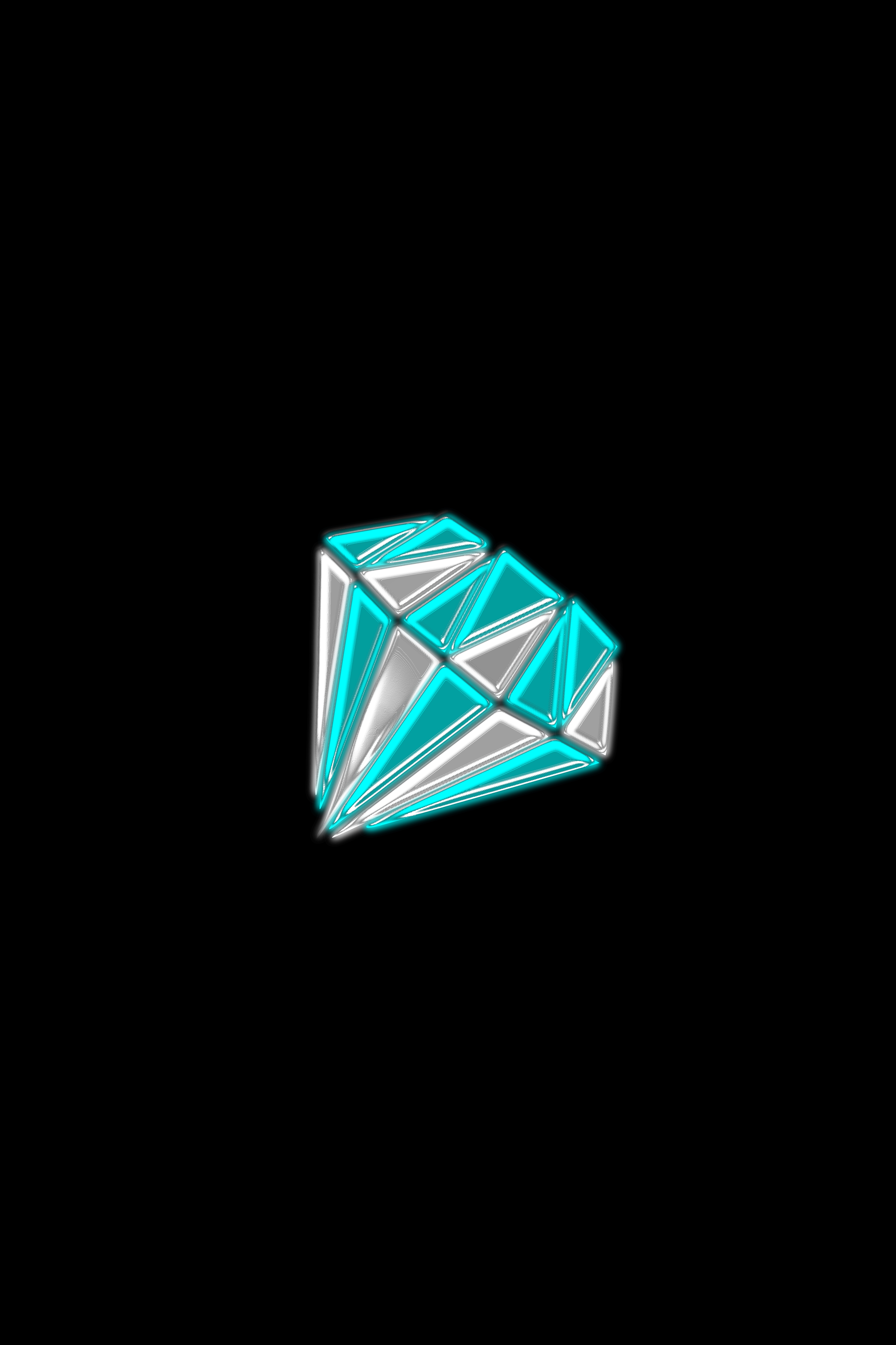 112024 download wallpaper Minimalism, Diamond, Triangles, Form, Shine, Brilliance screensavers and pictures for free