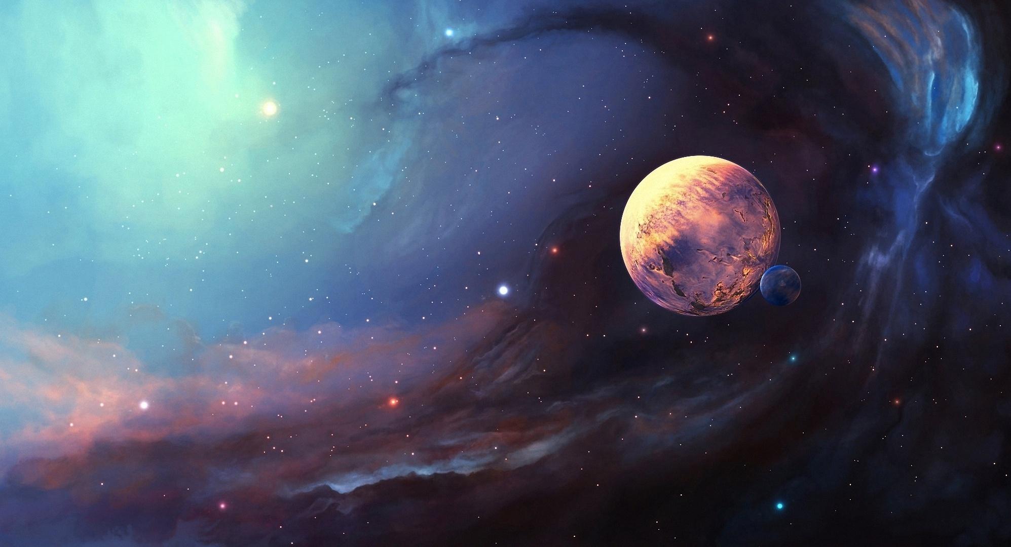 16158 скачать обои Пейзаж, Планеты, Космос - заставки и картинки бесплатно