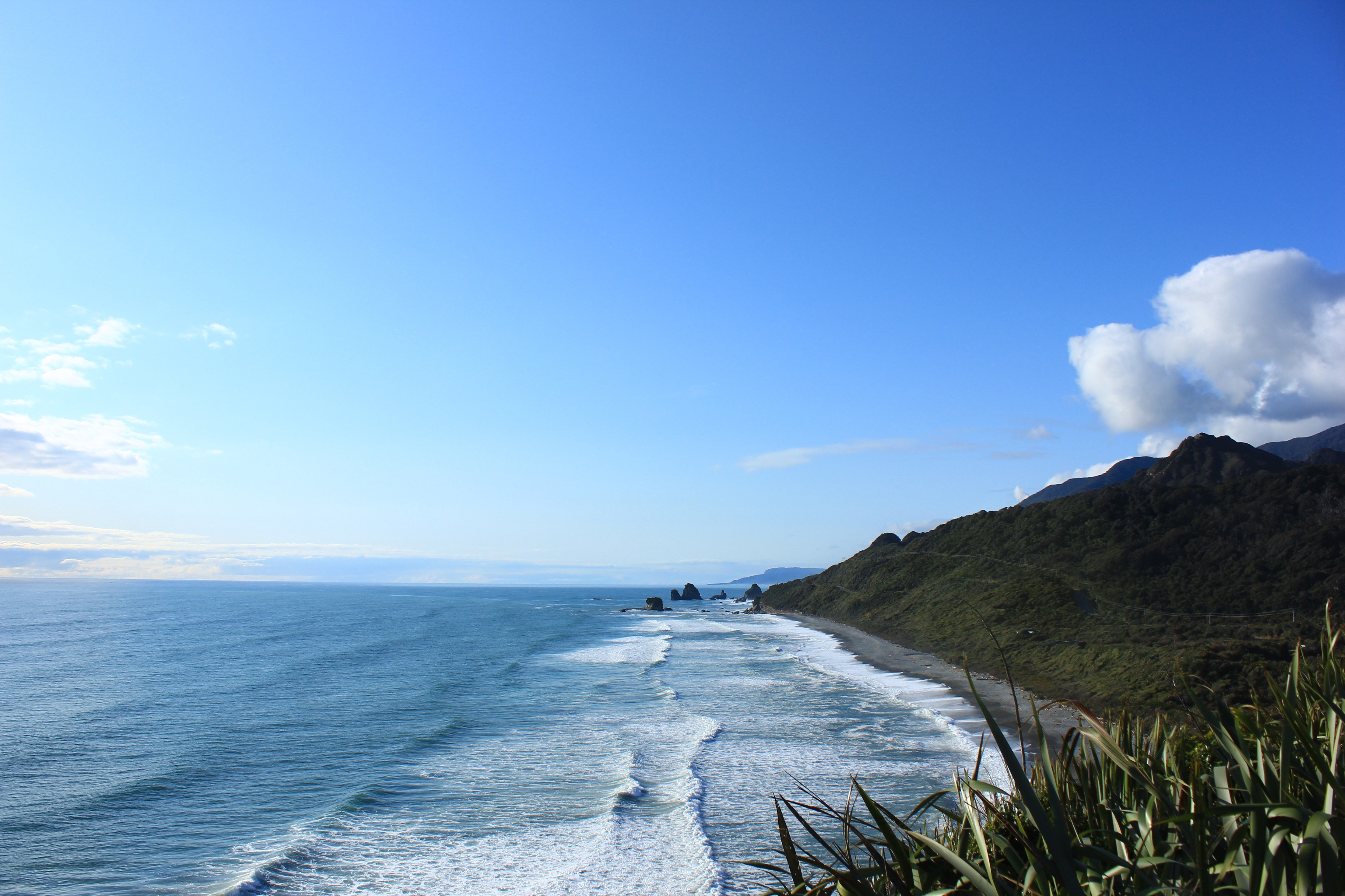 97545 Screensavers and Wallpapers New Zealand for phone. Download Nature, Mountains, Sea, Beach, New Zealand pictures for free