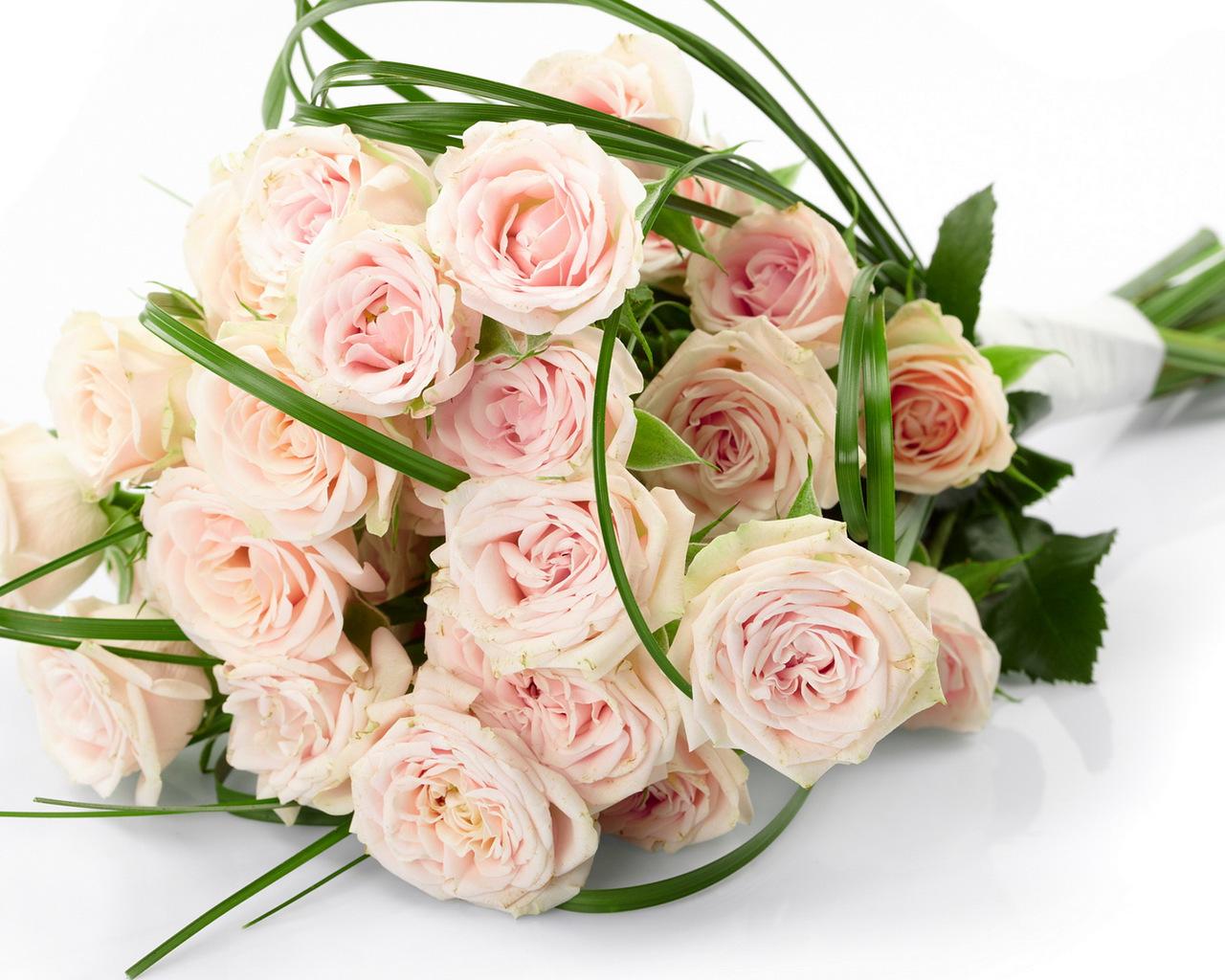 48719 скачать обои Растения, Цветы, Розы, Букеты - заставки и картинки бесплатно