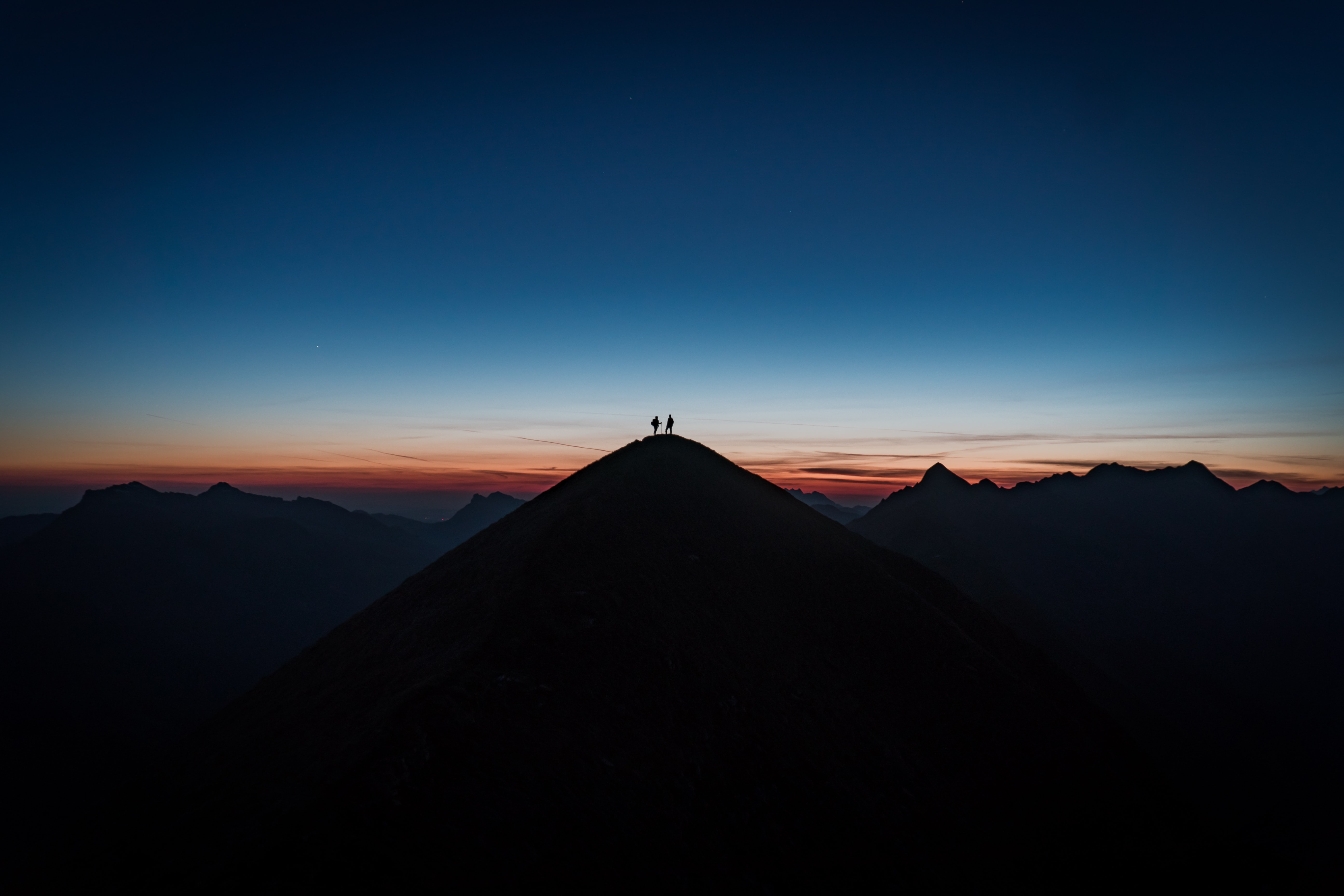 153889 Screensavers and Wallpapers Dahl for phone. Download Sunset, Silhouette, Miscellanea, Miscellaneous, Dahl, Distance, Hill pictures for free