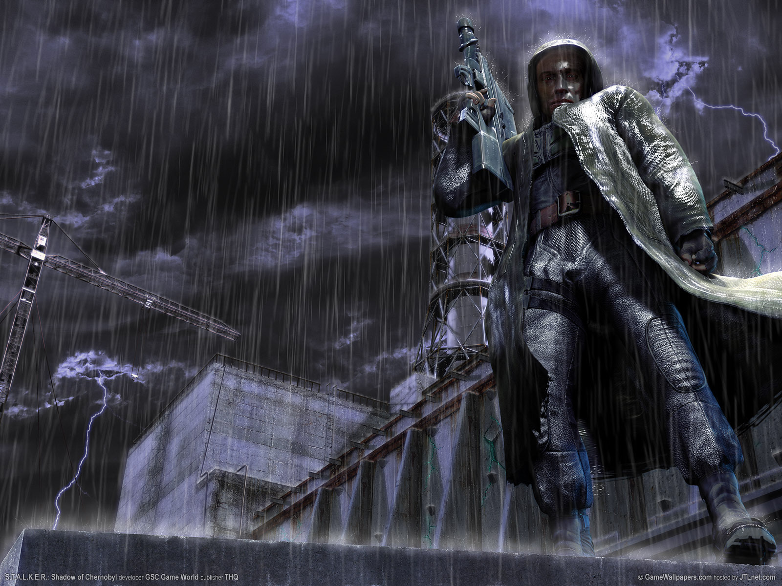 12994 скачать обои Игры, Дождь, Сталкер (S.t.a.l.k.e.r.) - заставки и картинки бесплатно