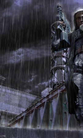 12994 免費下載壁紙 游戏, 雨, S.t.a.l.k.e.r. 屏保和圖片