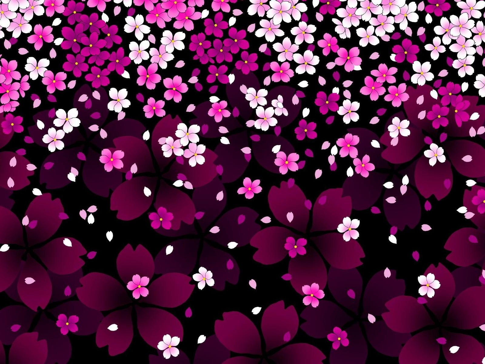 588 скачать обои Цветы, Фон, Арт - заставки и картинки бесплатно