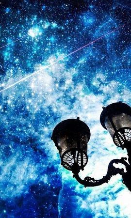 20096 скачать обои Пейзаж, Небо, Звезды, Ночь - заставки и картинки бесплатно