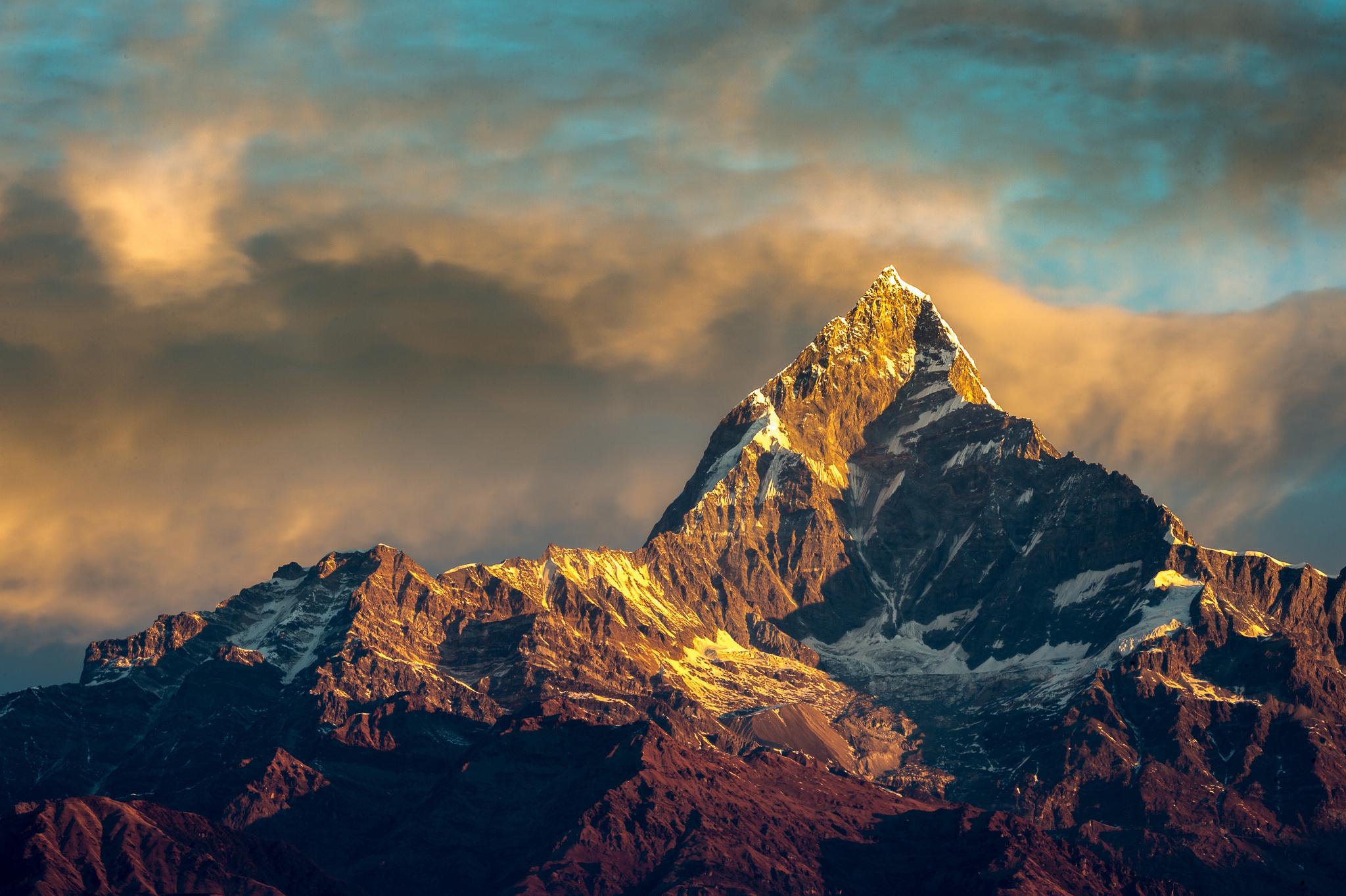 137917 скачать обои Горы, Природа, Небо, Гималаи, Непал, Аннапурна - заставки и картинки бесплатно