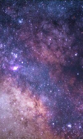 82368壁紙のダウンロード星空, 天の川, 輝く, 輝き, 宇宙, スター-スクリーンセーバーと写真を無料で