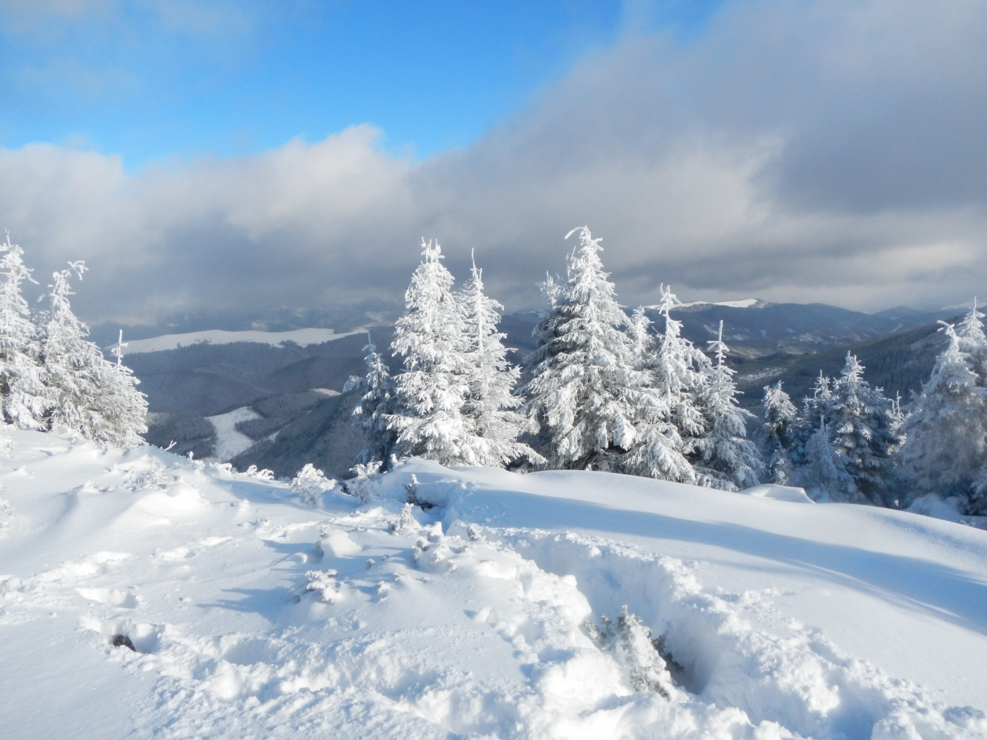 44687 download wallpaper Landscape, Winter, Nature, Snow screensavers and pictures for free
