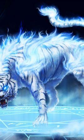 29798 baixar papel de parede Animais, Fantasia, Tigres - protetores de tela e imagens gratuitamente