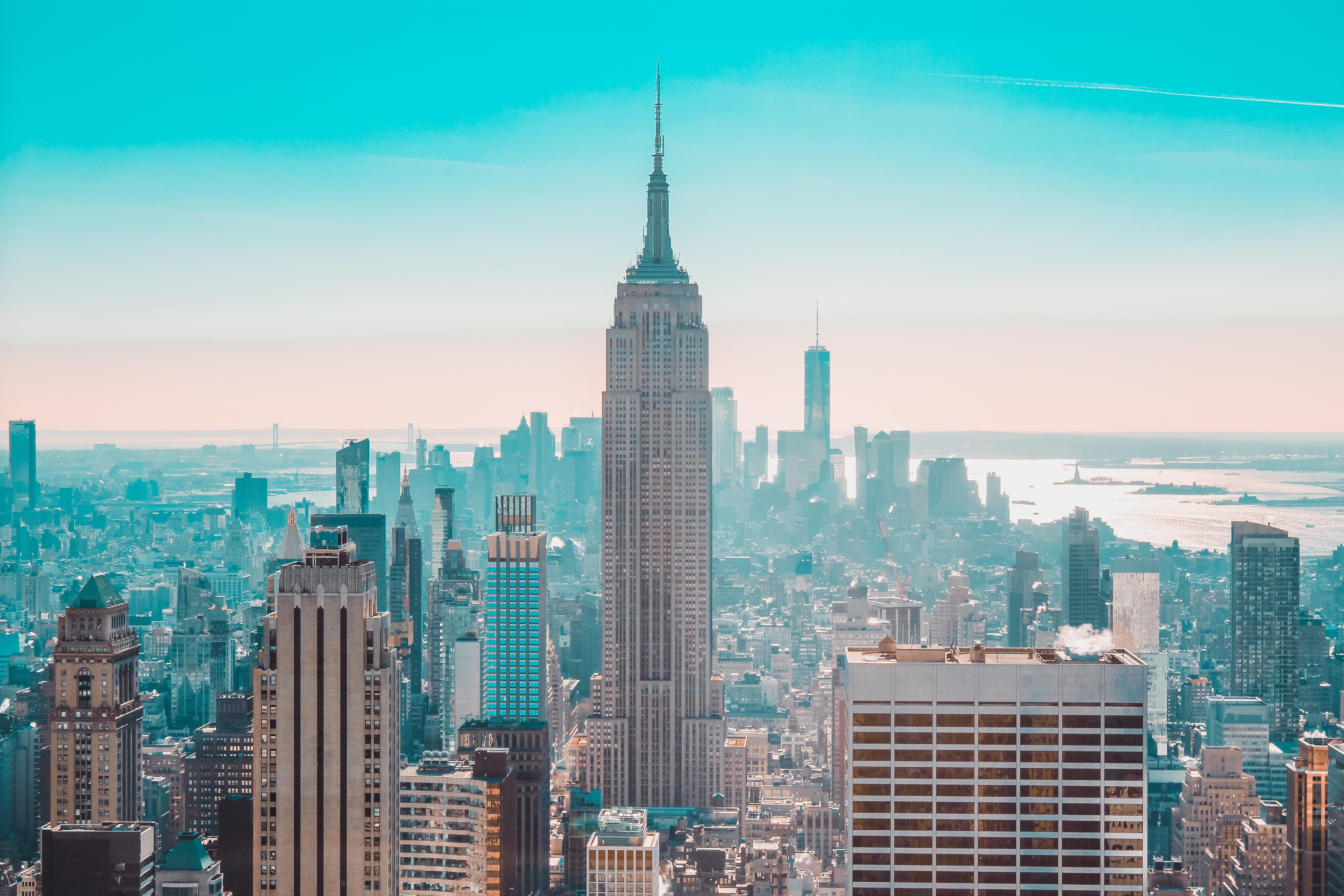 86898 Заставки и Обои Города на телефон. Скачать Город, Здания, Вид Сверху, Небоскребы, Нью-Йорк, Сша, Города картинки бесплатно