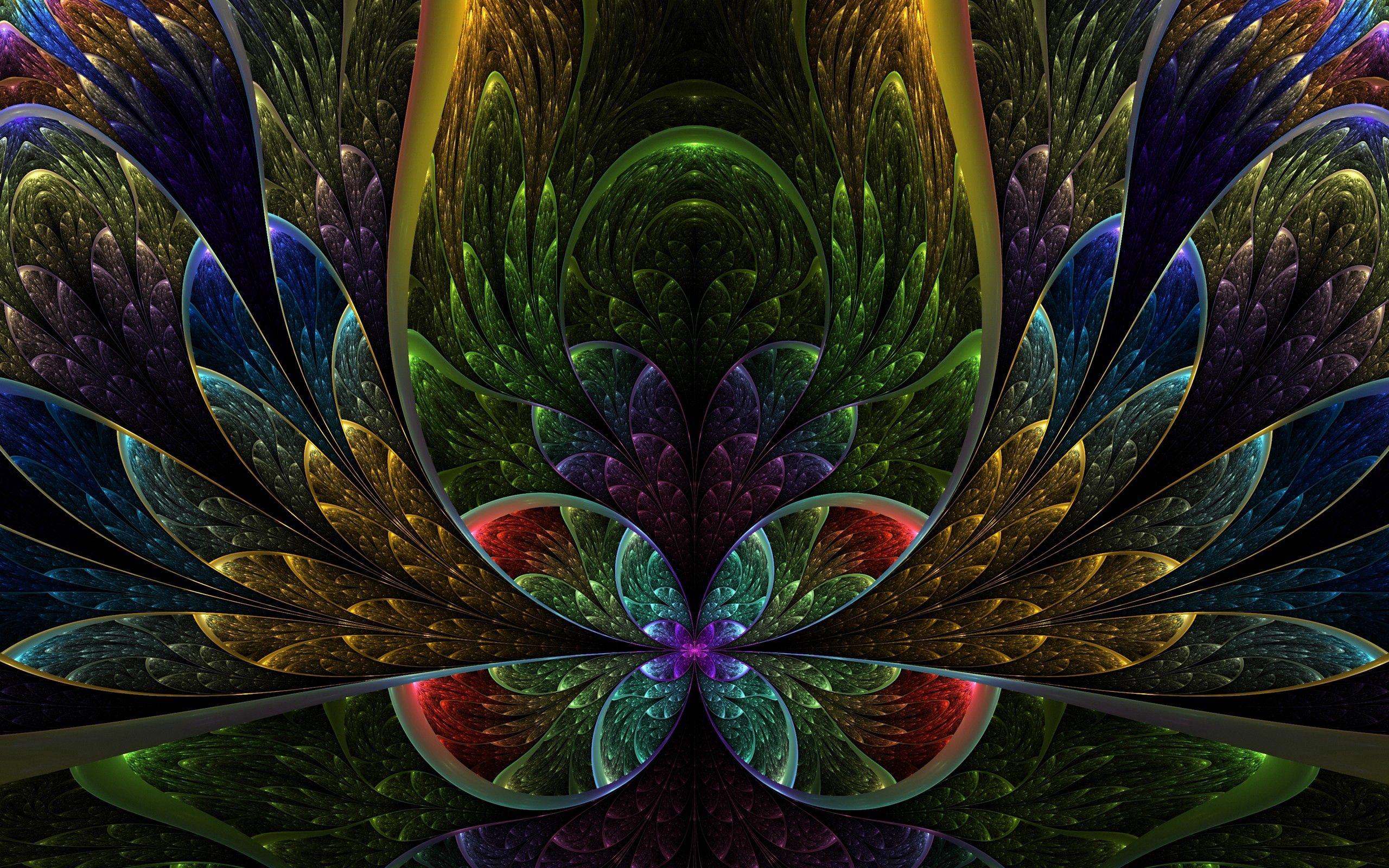 127627 скачать обои Узоры, Абстракция, Разноцветный, Темный, Формы - заставки и картинки бесплатно