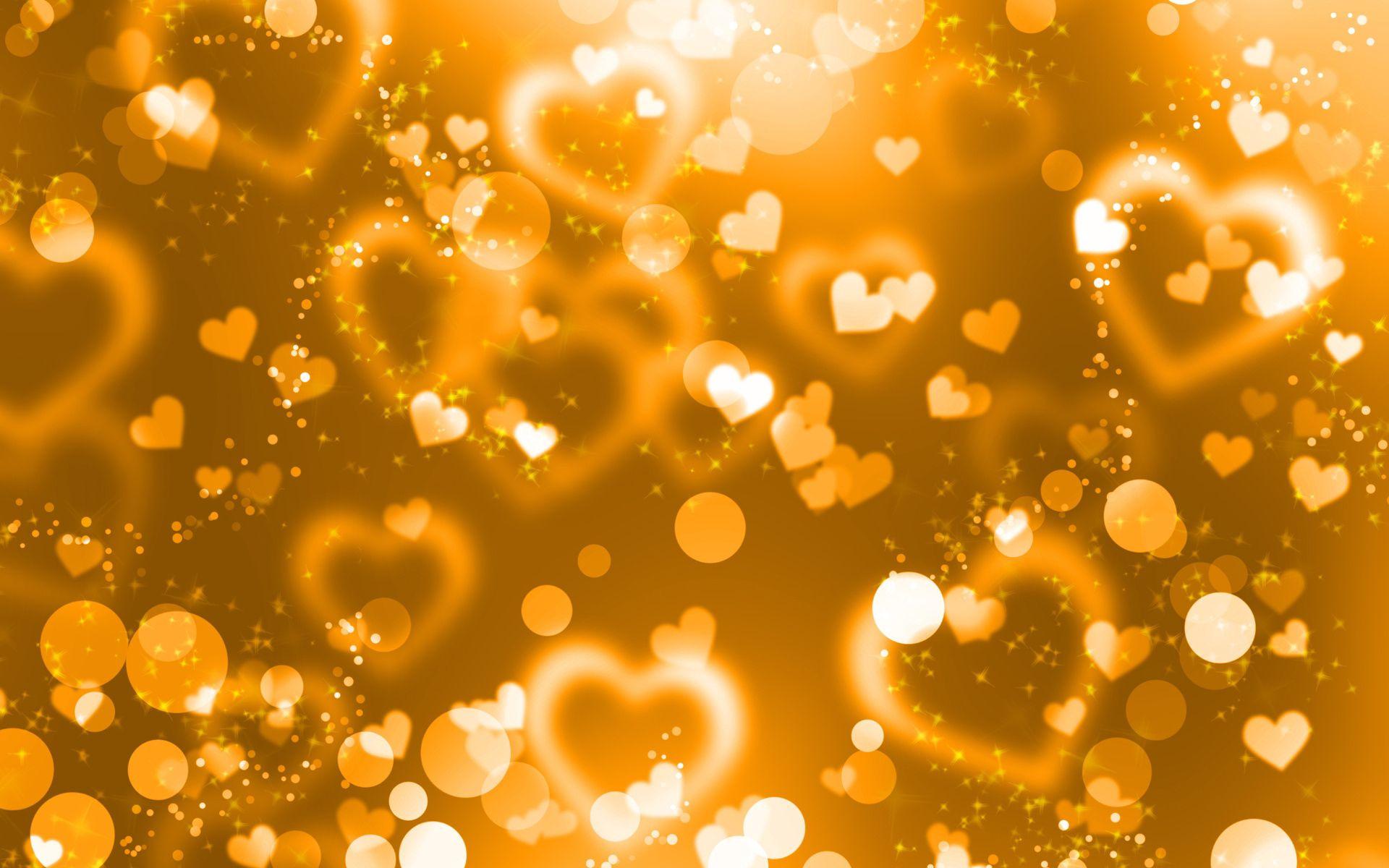 113701 Заставки и Обои Сердца на телефон. Скачать Сердца, Абстракция, Сияние, Золото, Блики, Блеск картинки бесплатно