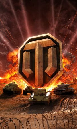 34728 download wallpaper Games, World Of Tanks screensavers and pictures for free