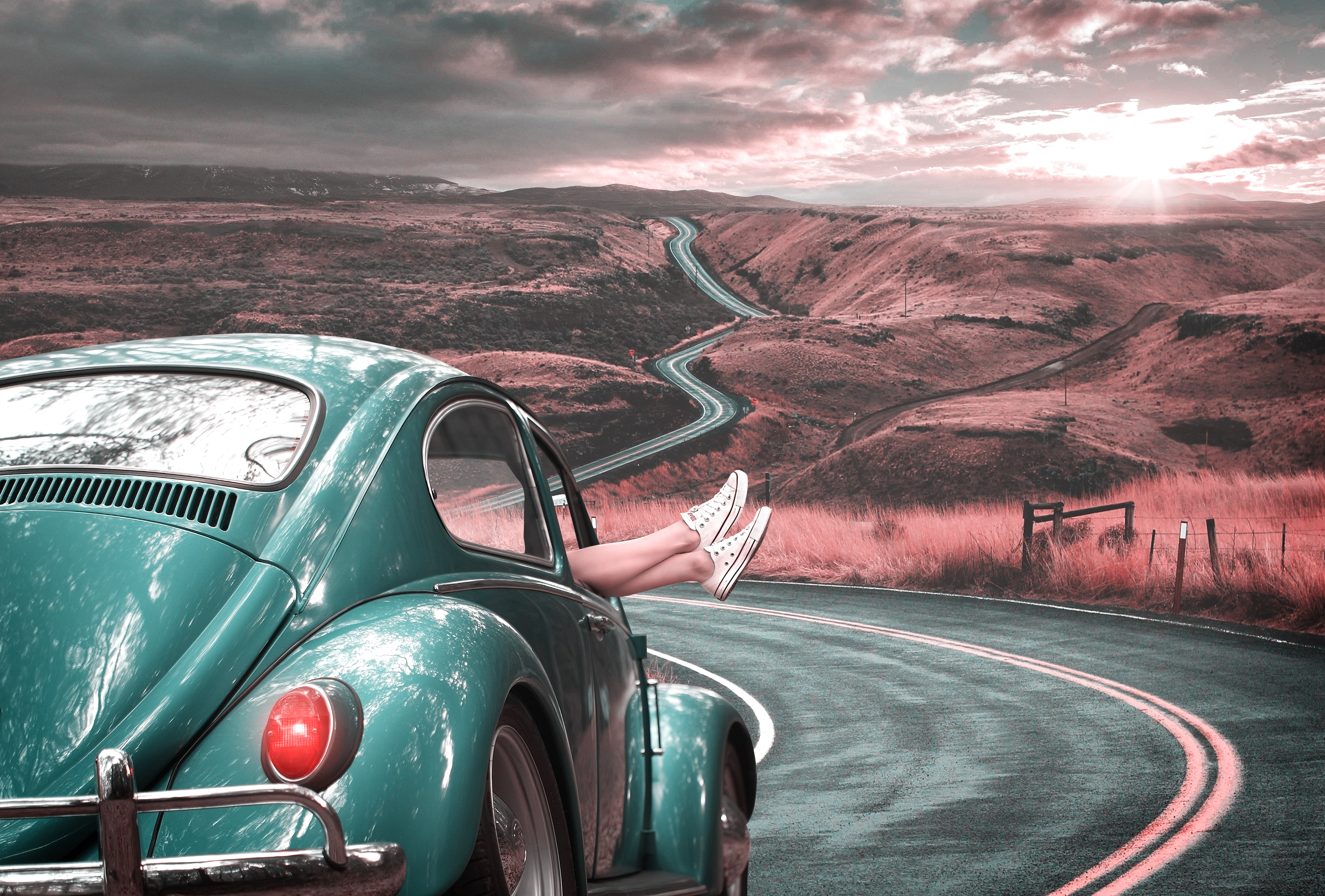 124786 Screensavers and Wallpapers Retro for phone. Download Cars, Legs, Car, Retro, Road, Markup pictures for free