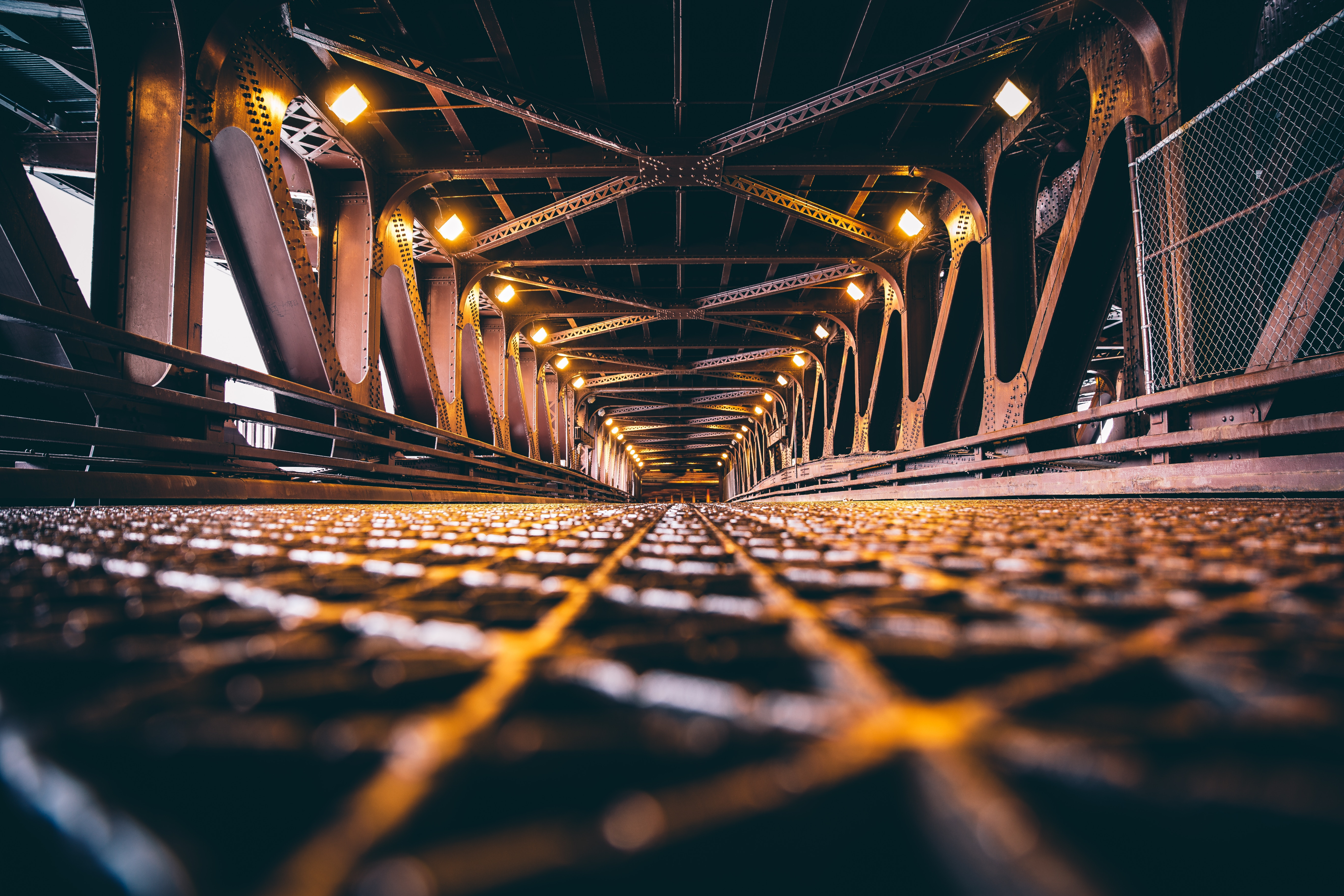 73790 Hintergrundbild 800x480 kostenlos auf deinem Handy, lade Bilder Städte, Brücke, Design, Bau, Konstruktion, Hintergrundbeleuchtung, Beleuchtung, Chicago 800x480 auf dein Handy herunter