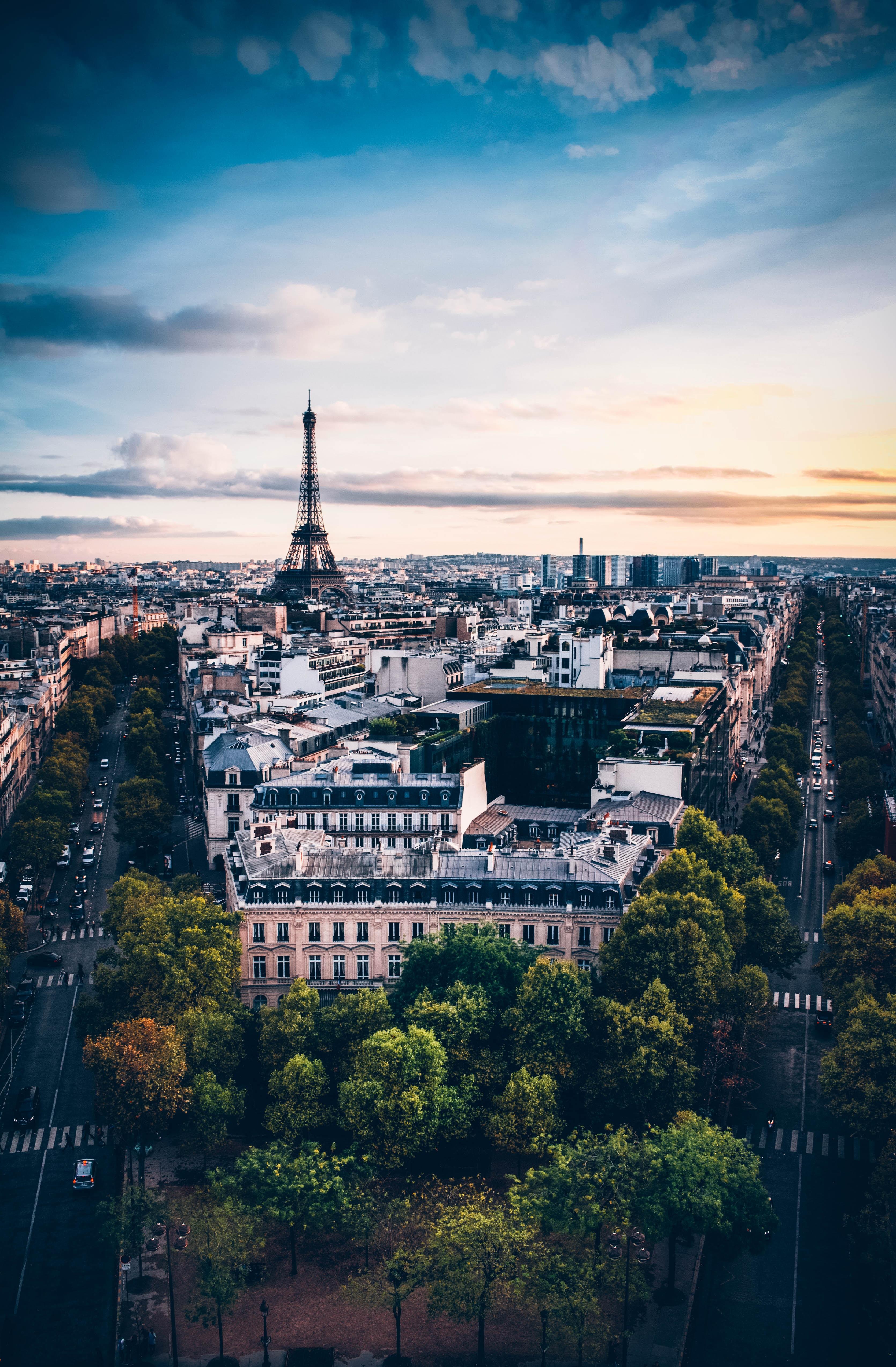 85224壁紙のダウンロード市, 都市, 建物, 軒, パリ, フランス, アーキテクチャ-スクリーンセーバーと写真を無料で