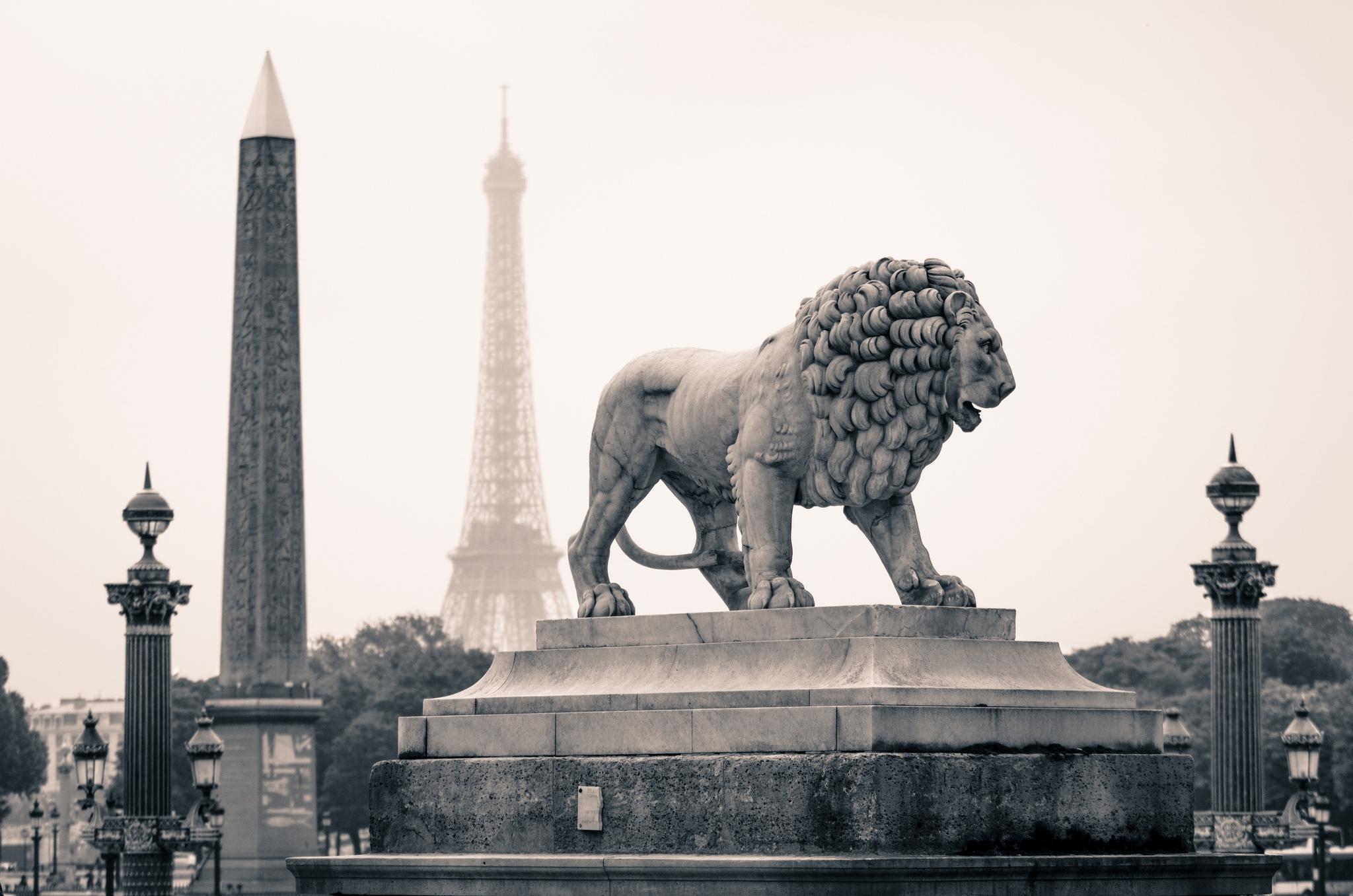 69900 скачать обои Города, Париж, Памятники, Город, Лев, Франция, Статуя - заставки и картинки бесплатно